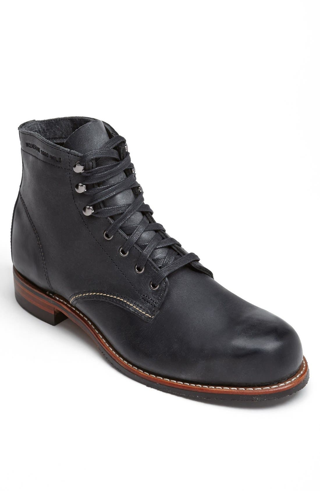 Alternate Image 1 Selected - Wolverine '1000 Mile - Morley' Round Toe Boot