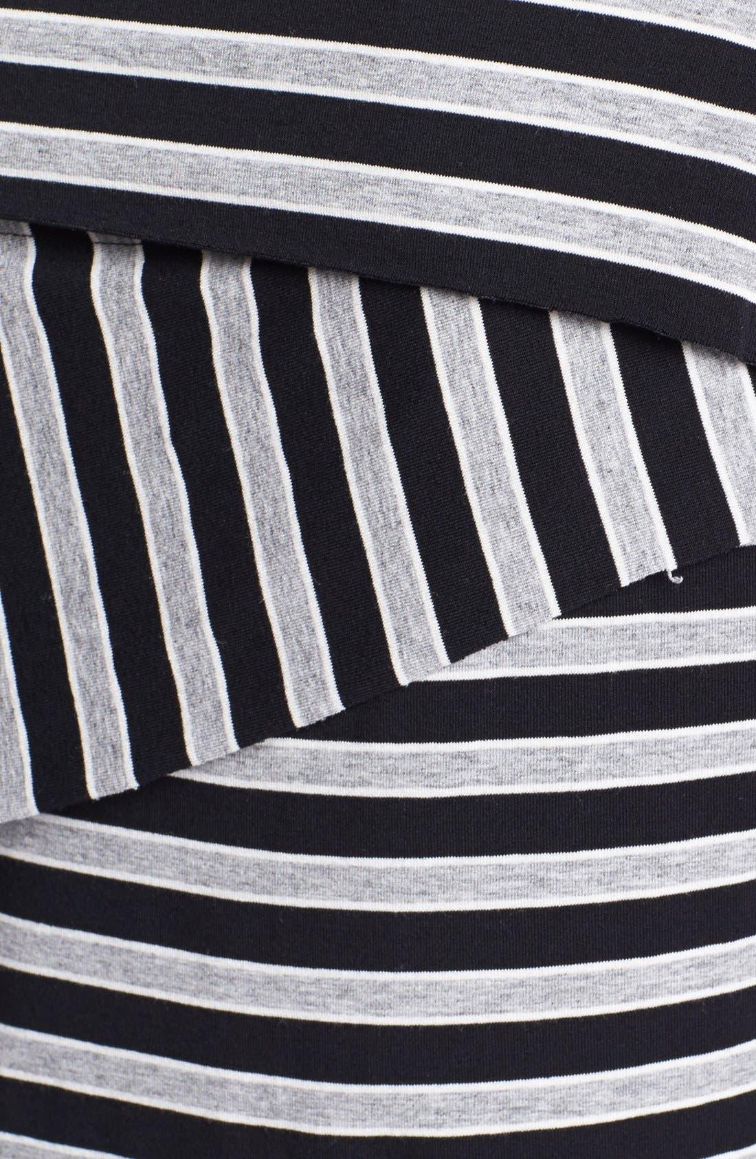 Alternate Image 3  - Vince Camuto Calais Stripe Bandage Top