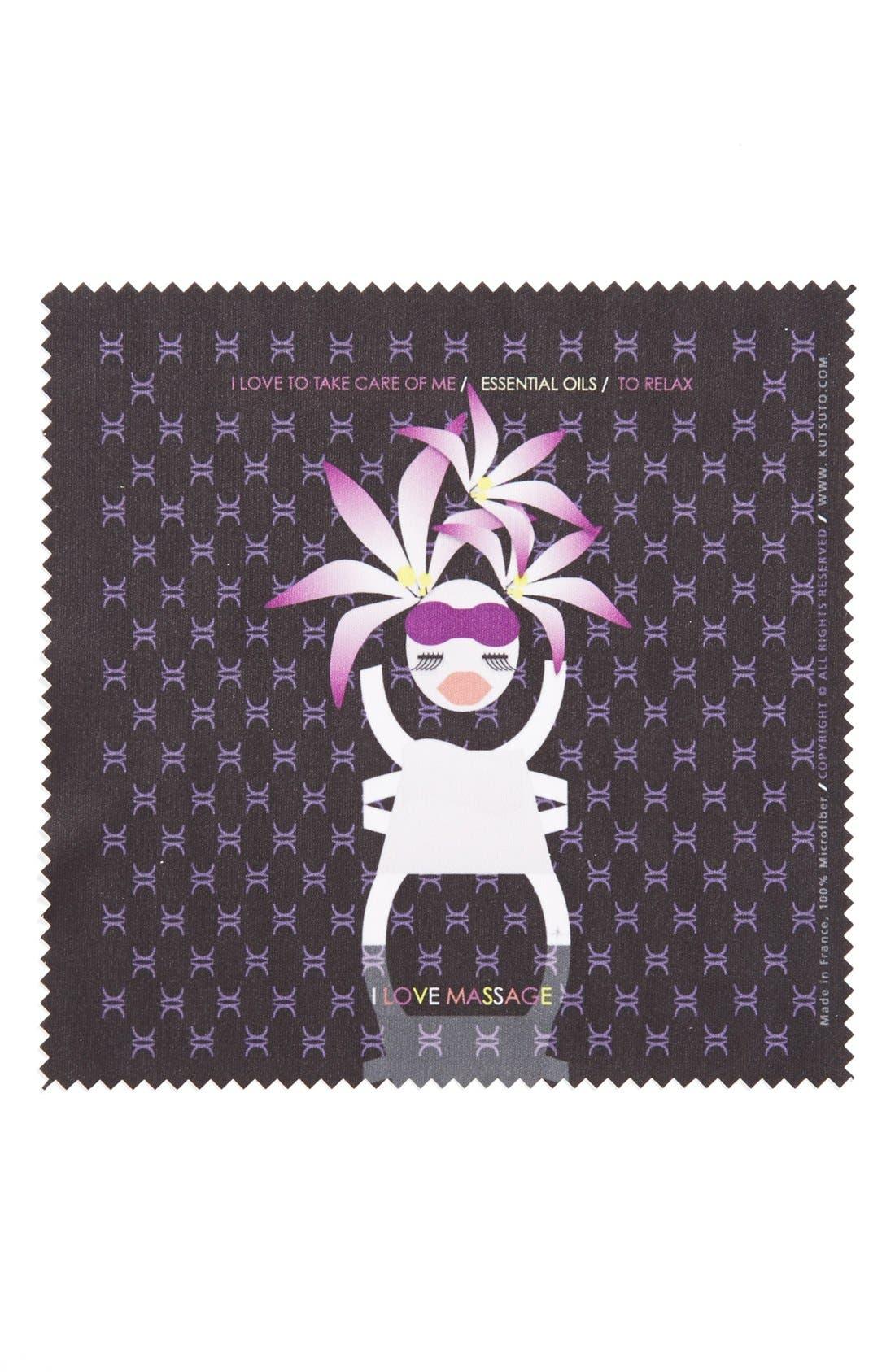 Main Image - KUTSUTO 'Kutsinette - I Love Being A Femme Fatale' Microfiber Cloth