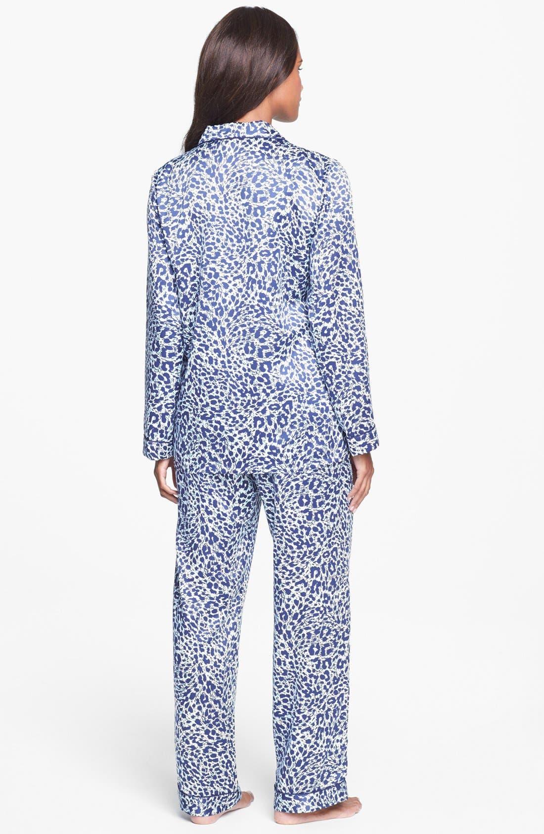 Alternate Image 2  - Nordstrom Satin Pajamas
