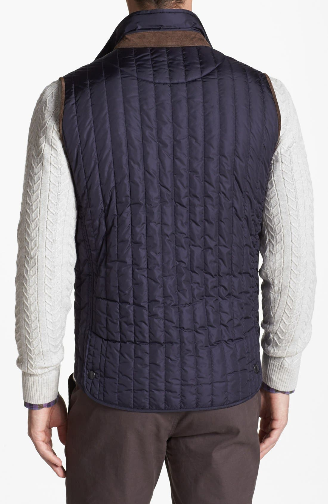 Alternate Image 2  - Kent and Curwen 'Mackaulay' Quilted Vest