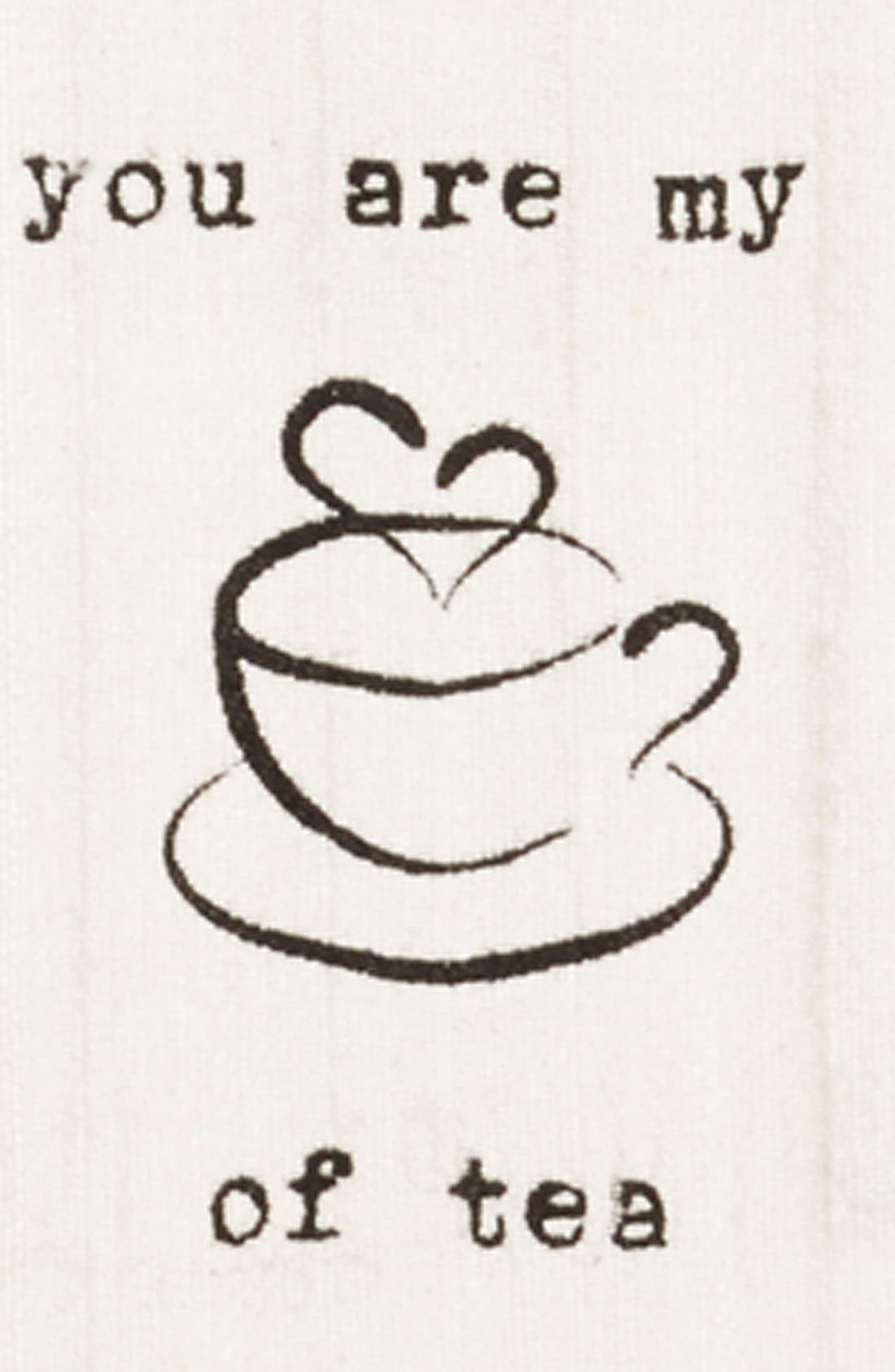 Alternate Image 2  - Second Nature by Hand 'You Are My Cup of Tea' Dish Towel