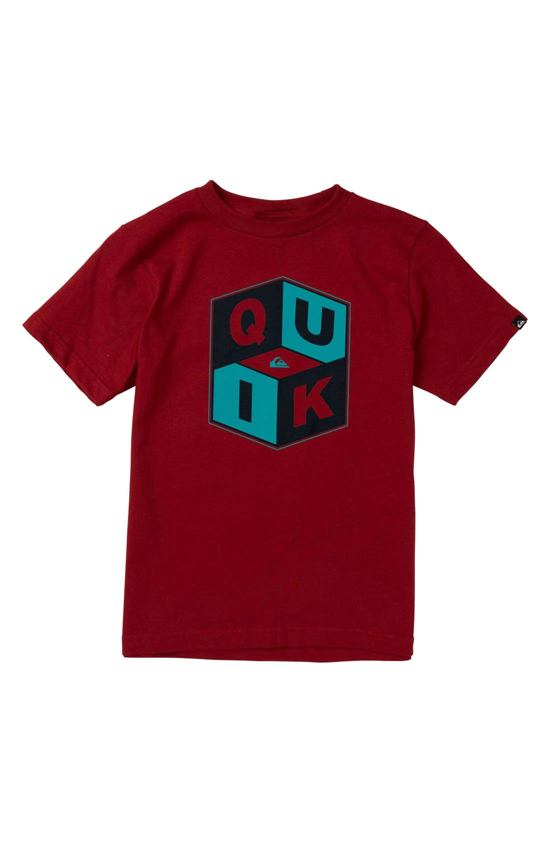 Alternate Image 1 Selected - Quiksilver 'Pop Command' T-Shirt (Toddler Boys)