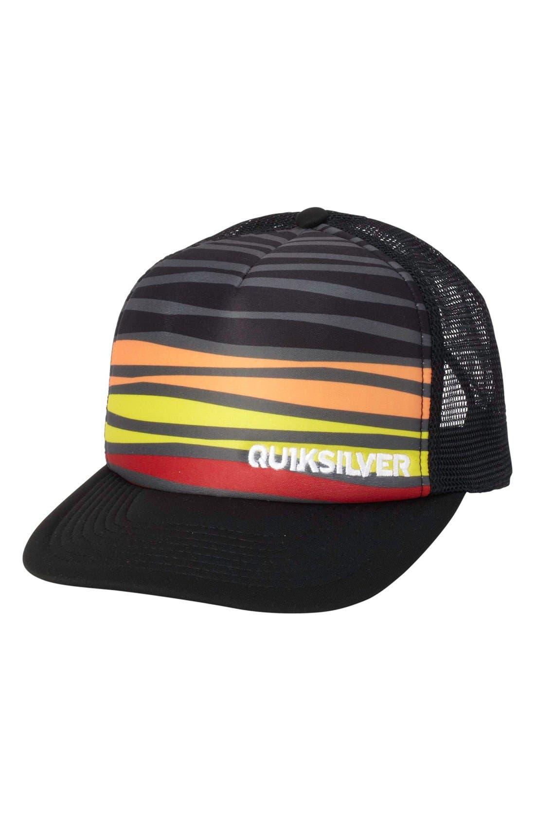 Alternate Image 1 Selected - Quiksilver 'Boards' Trucker Hat (Big Boys)
