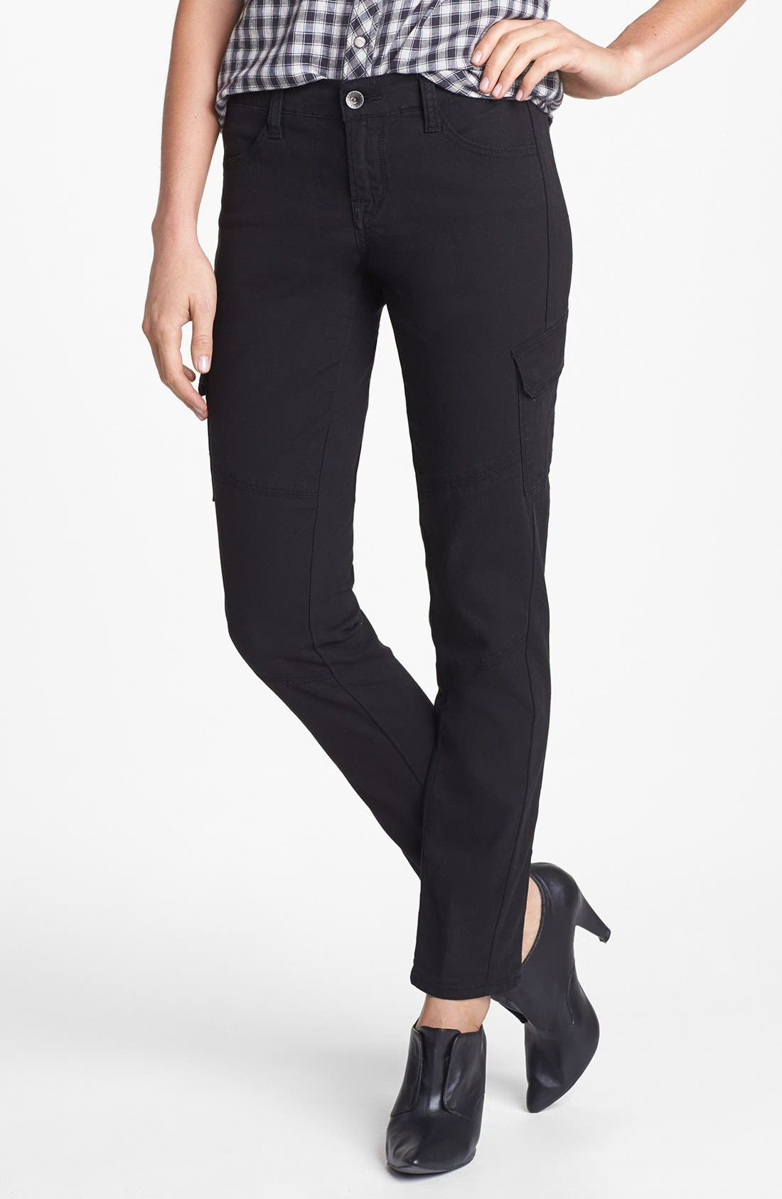 Alternate Image 1 Selected - Lucky Brand Skinny Cargo Pants