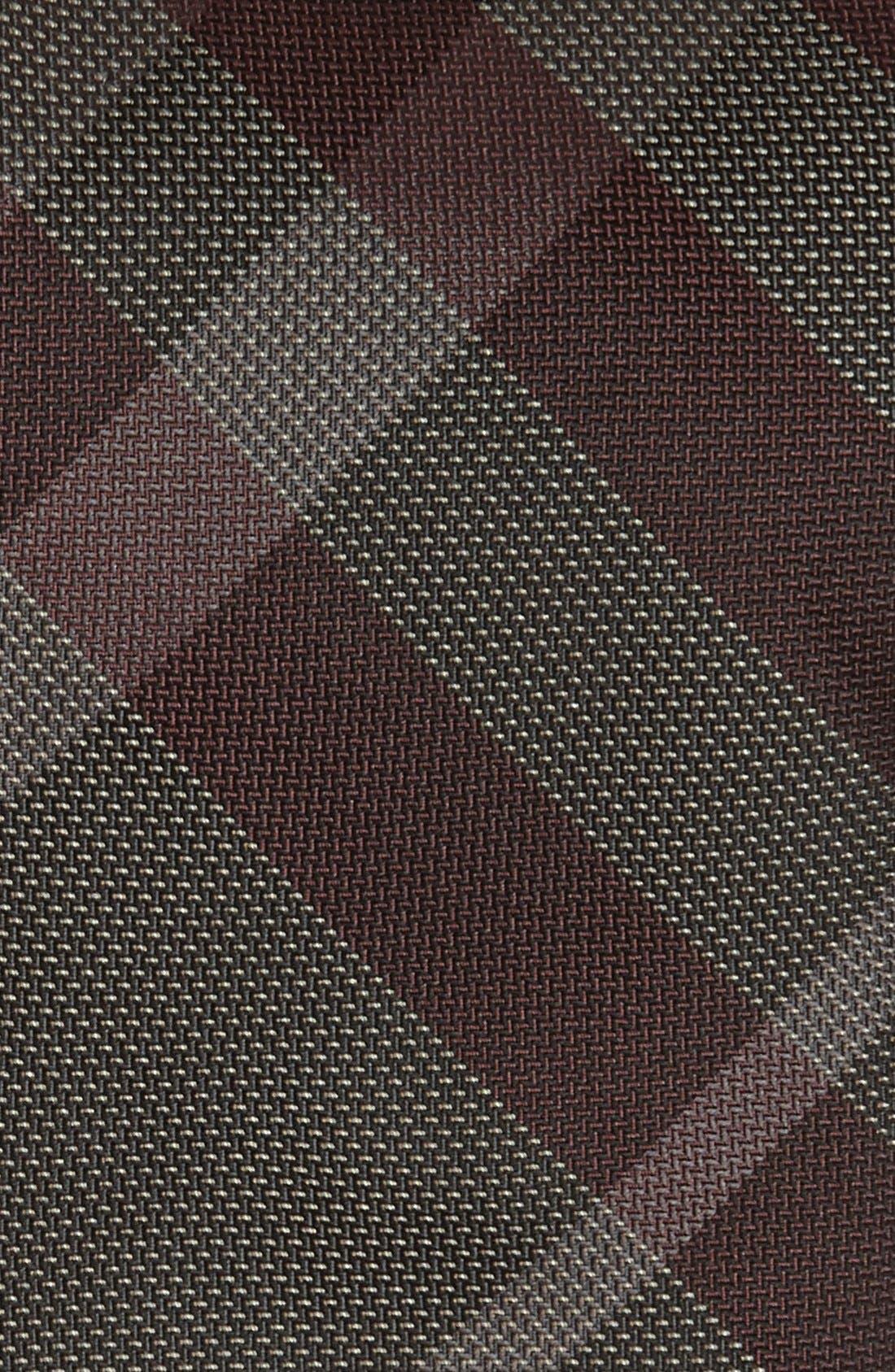 Alternate Image 2  - Burberry London Woven Silk Tie