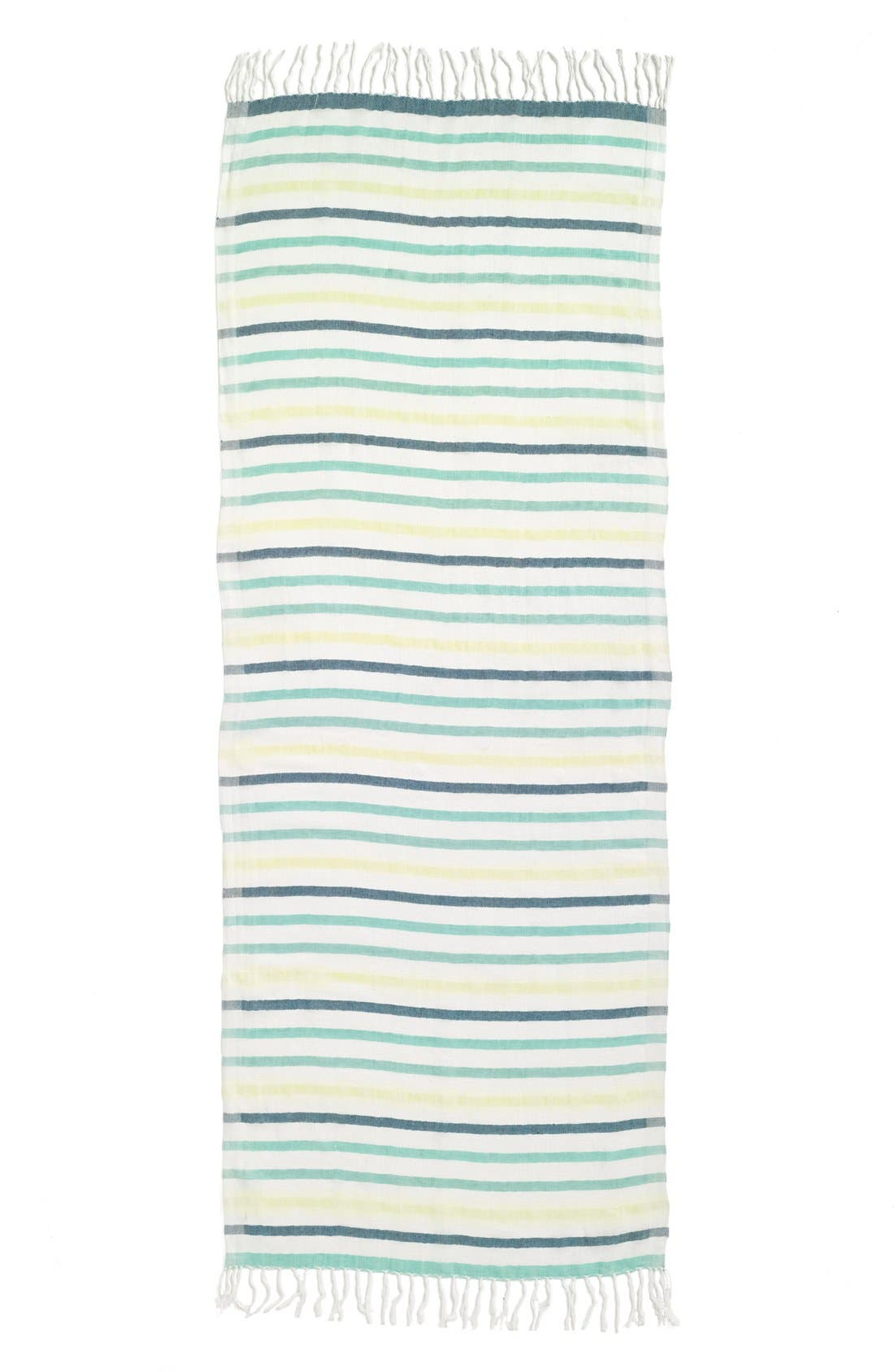 Alternate Image 2  - Halogen® Stripe Scarf