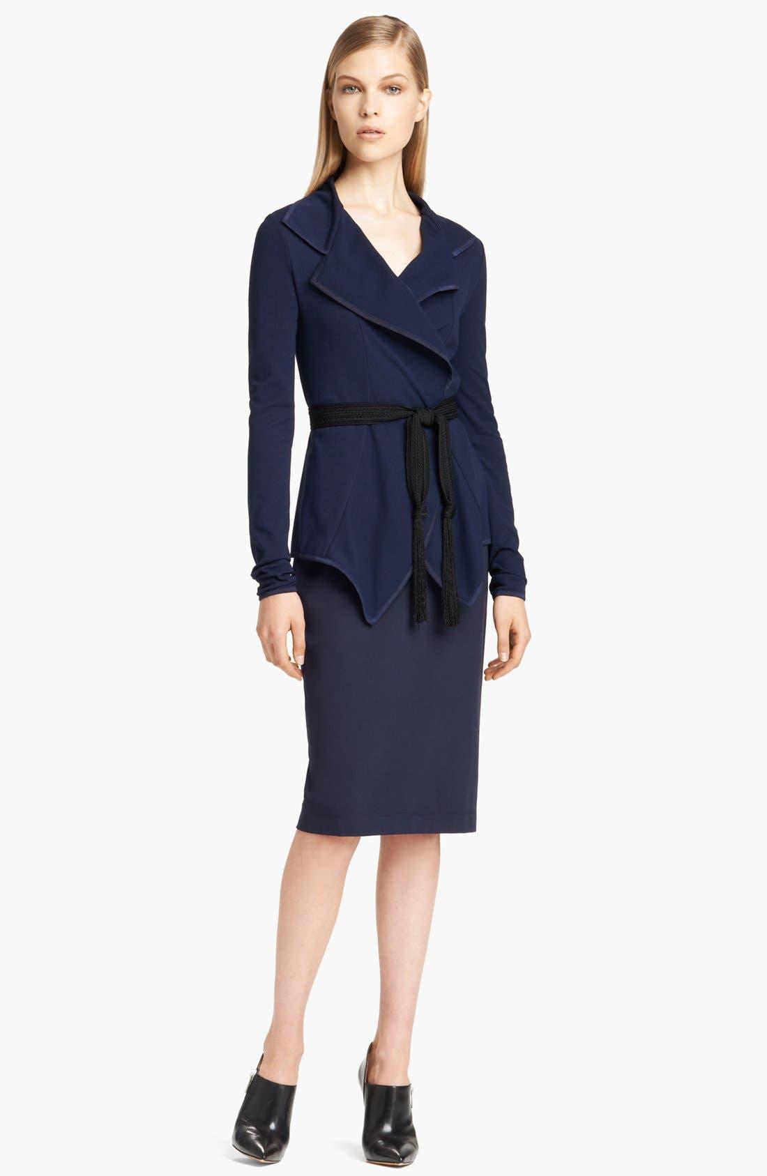Alternate Image 3  - Donna Karan Collection Lightweight Structured Jersey Jacket