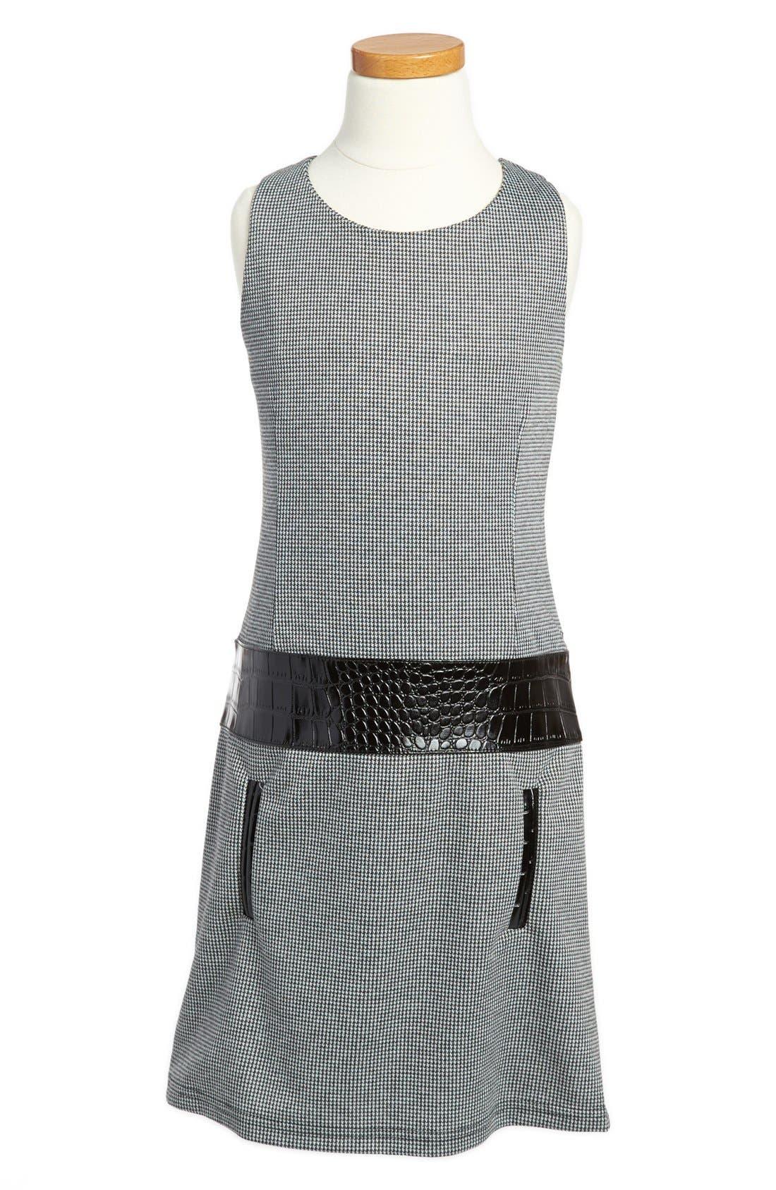 Alternate Image 1 Selected - Laundry by Shelli Segal Drop Waist Dress