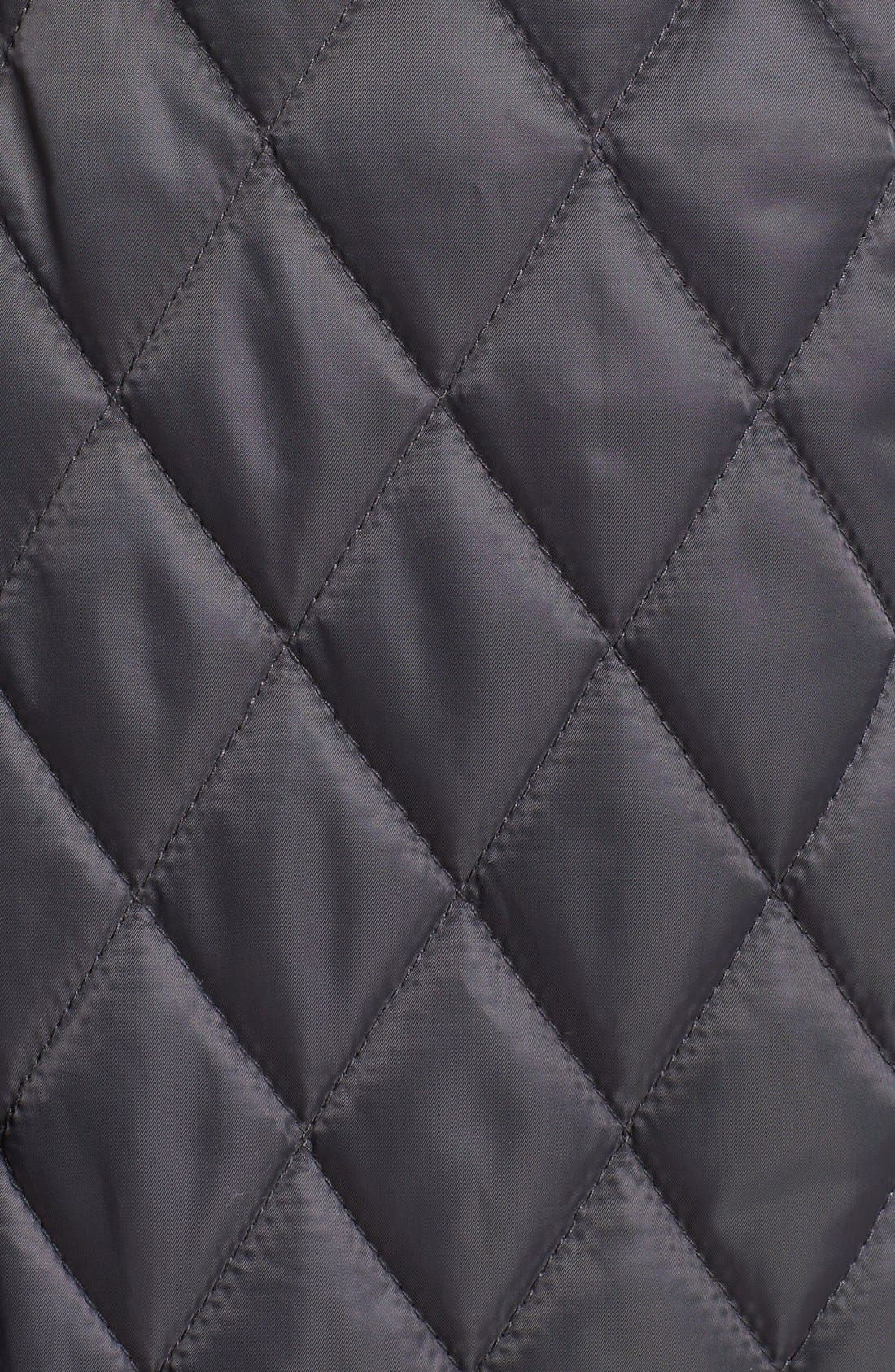 Alternate Image 3  - Vince Camuto Contrast Trim Quilted Coat