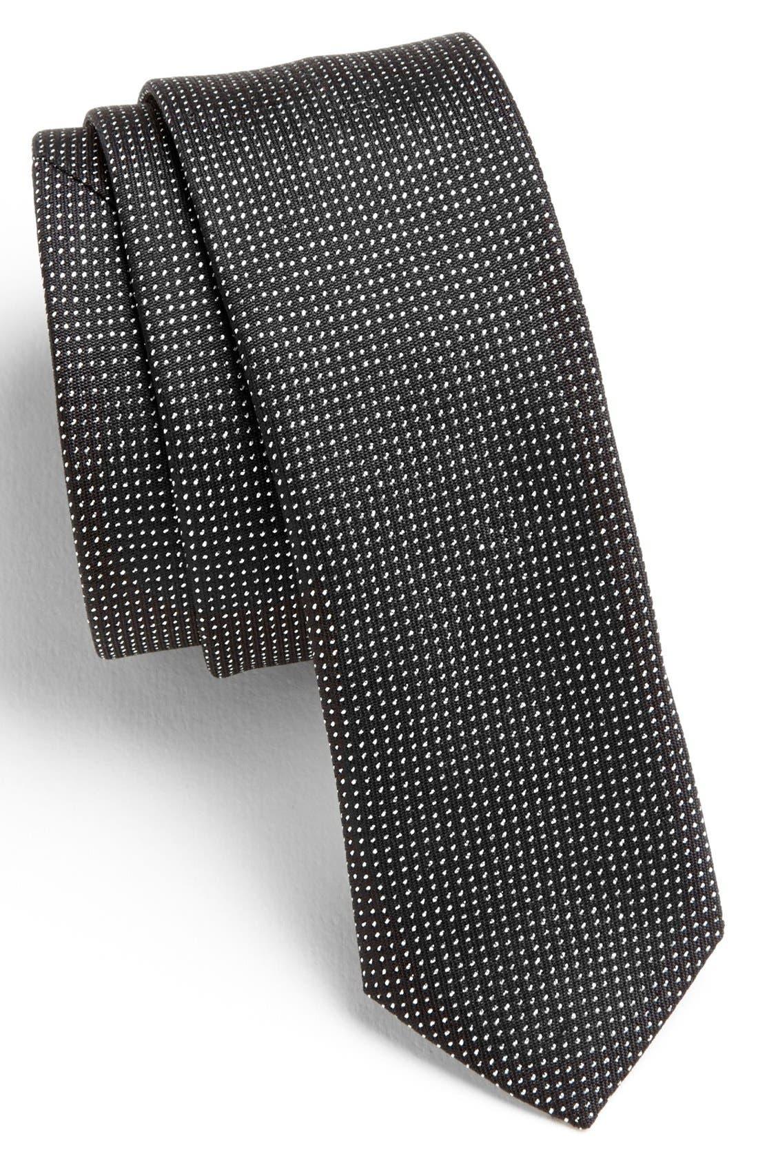 Alternate Image 1 Selected - HUGO Woven Silk Blend Tie