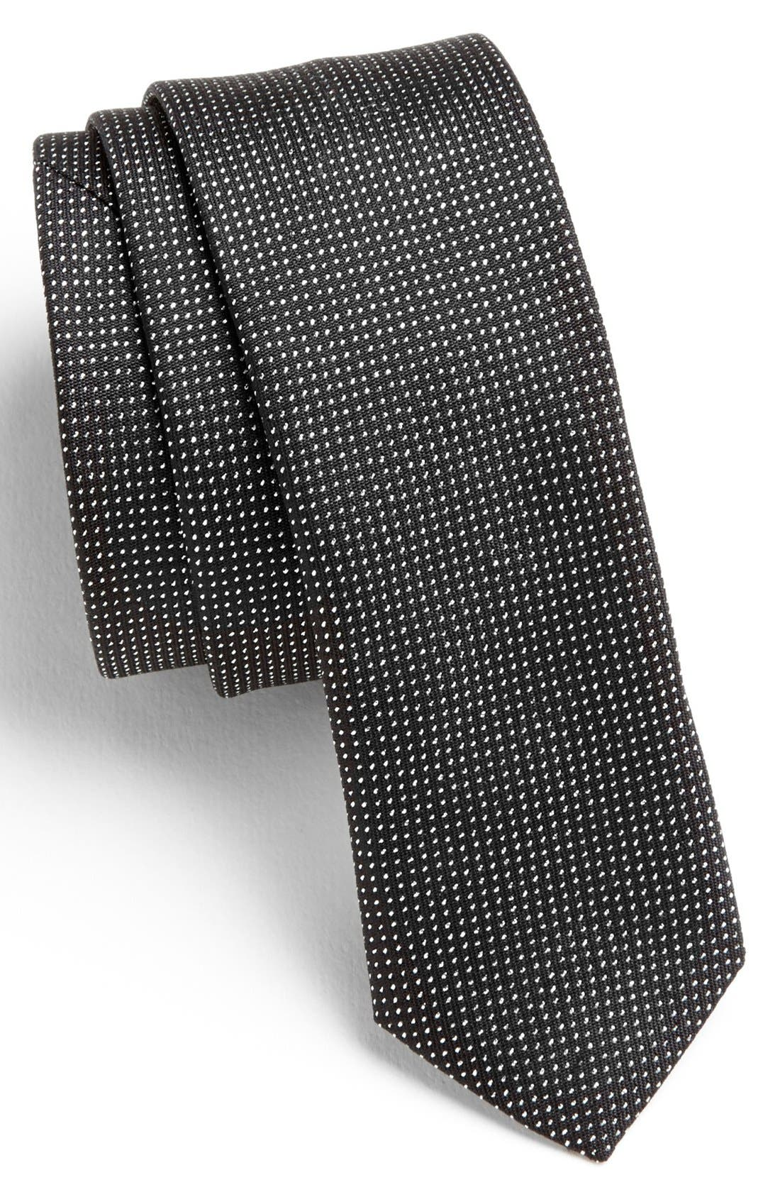 Main Image - HUGO Woven Silk Blend Tie