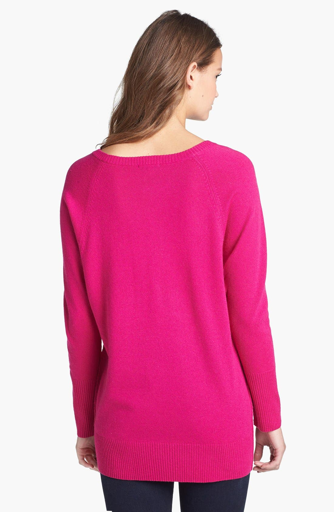Alternate Image 2  - Halogen® Raglan Seam Dolman Sleeve Sweater