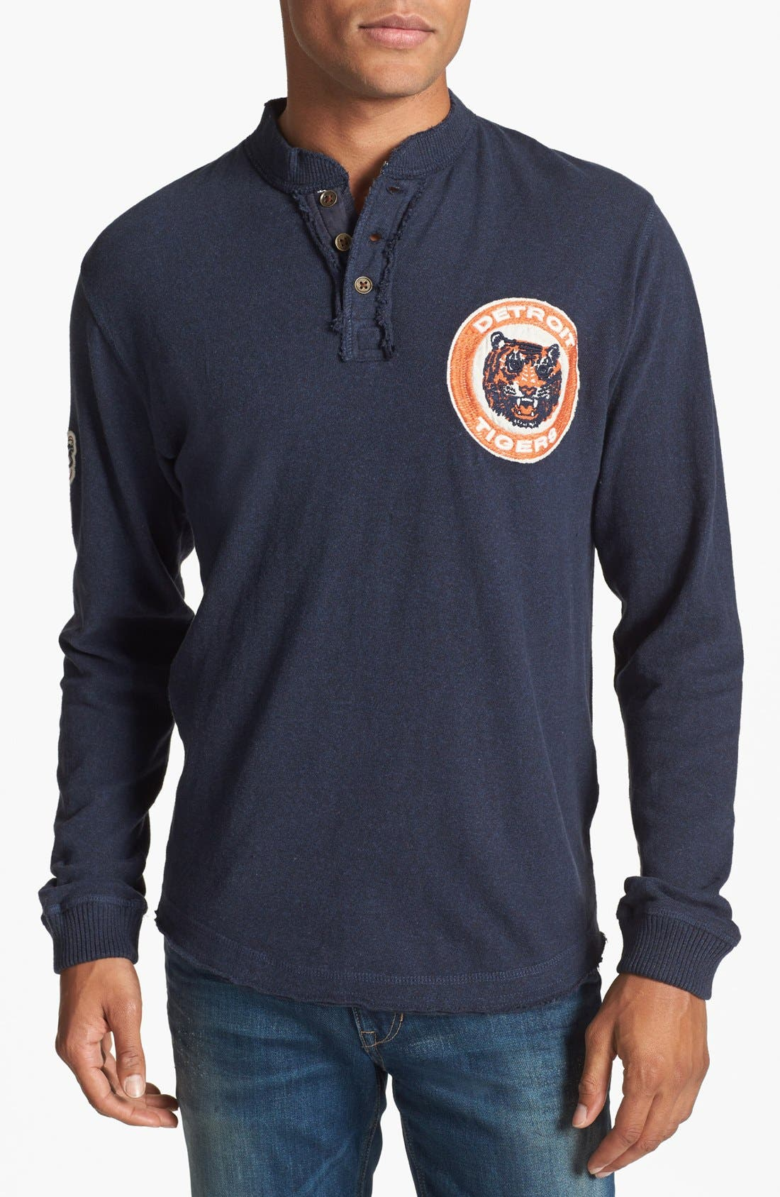 Alternate Image 1 Selected - Red Jacket 'Detroit Tigers - Ten Grand' Henley
