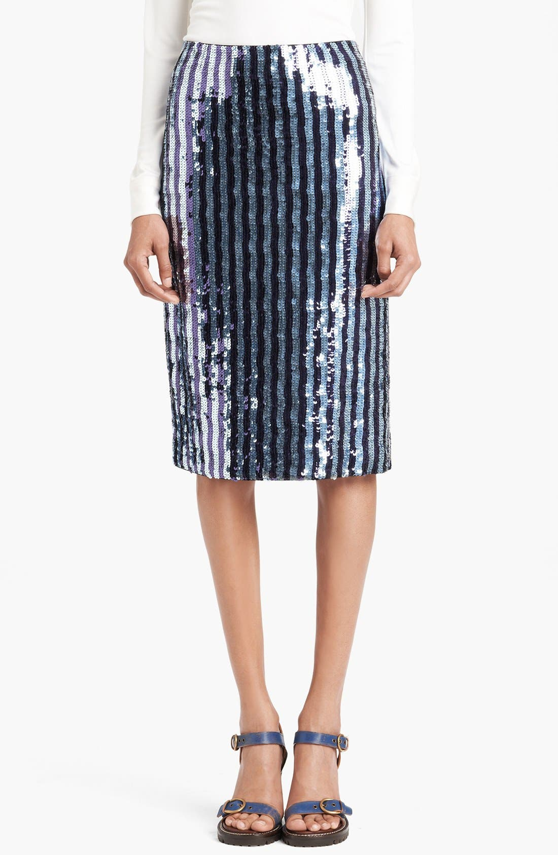 Main Image - MARC JACOBS Sequin Pencil Skirt