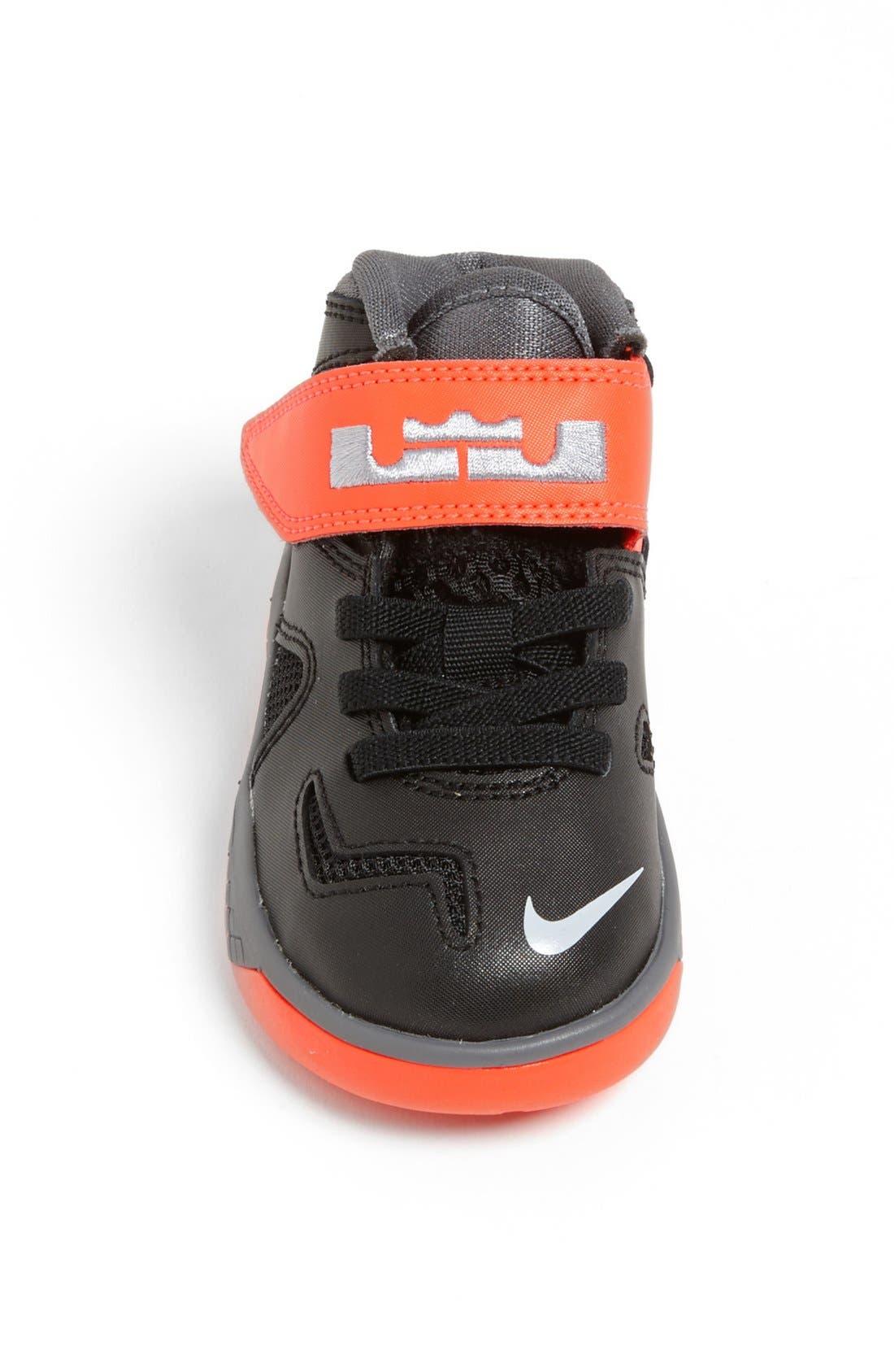 Alternate Image 4  - Nike 'LeBron Soldier 7' Basketball Shoe (Baby, Walker & Toddler)