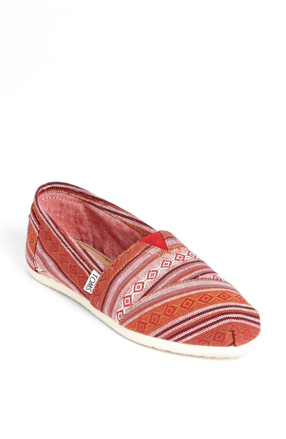 Alternate Image 1 Selected - TOMS 'Seasonal Classic - Nepal' Slip-On (Women)