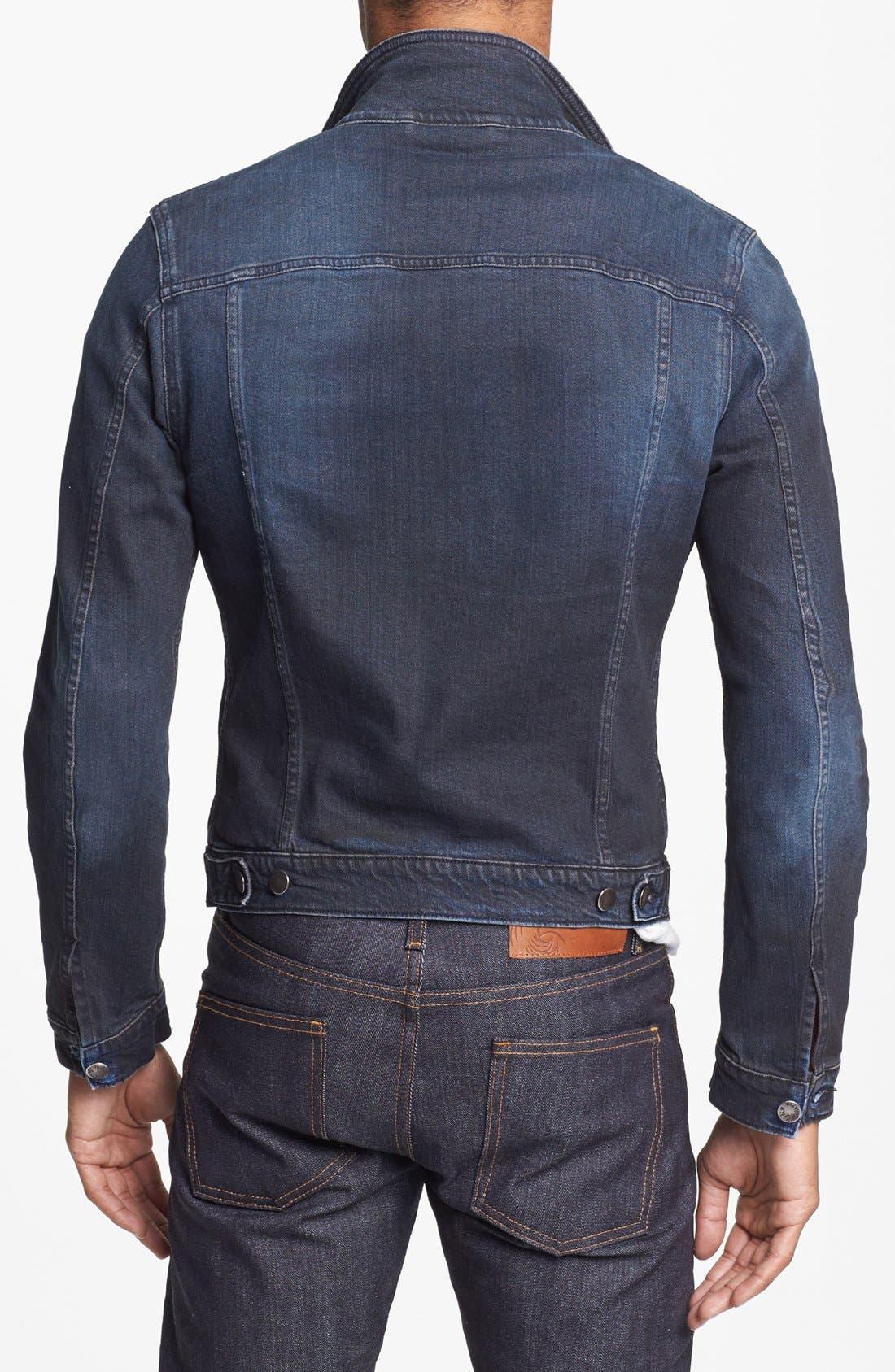 Alternate Image 2  - Nudie Jeans 'Perry' Organic Denim Jacket
