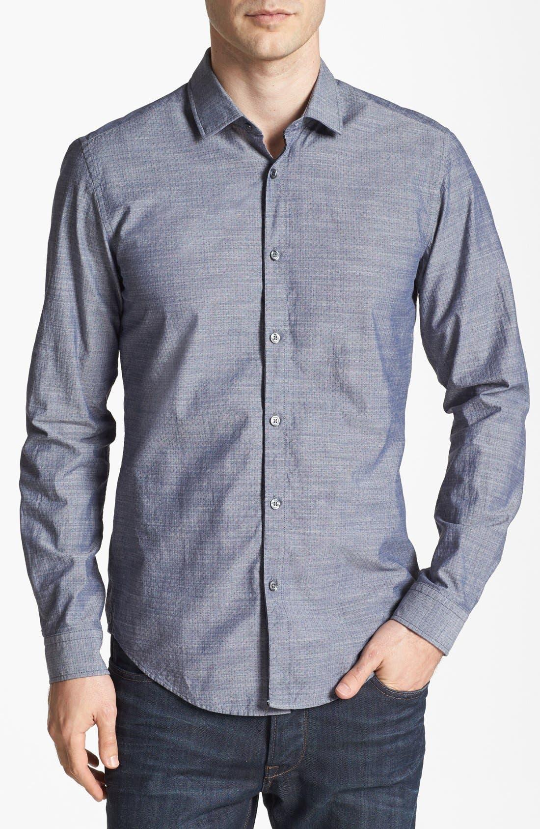 Main Image - BOSS HUGO BOSS 'Nemos' Slim Fit Sport Shirt