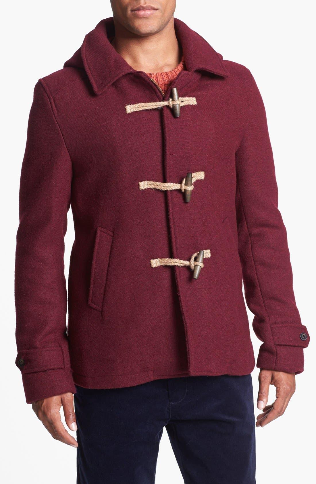 Main Image - Scotch & Soda Hooded Coat