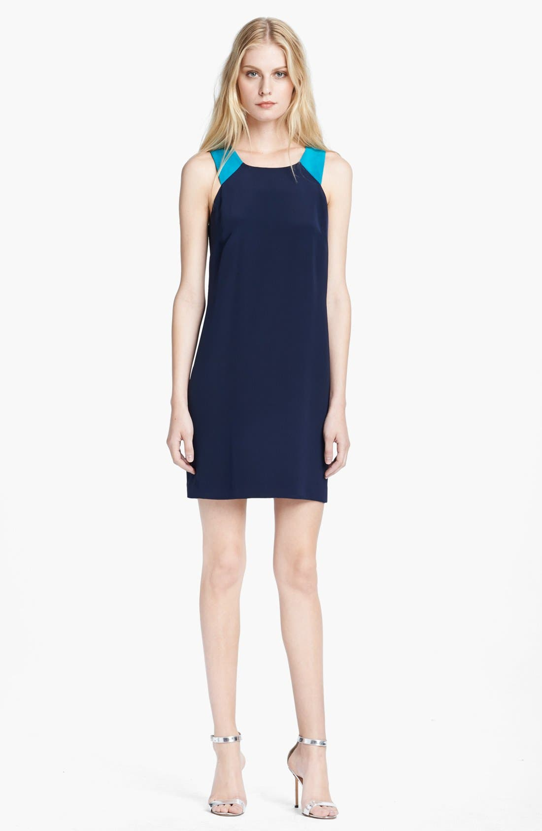 Main Image - Jay Godfrey Colorblock Racerback Shift Dress