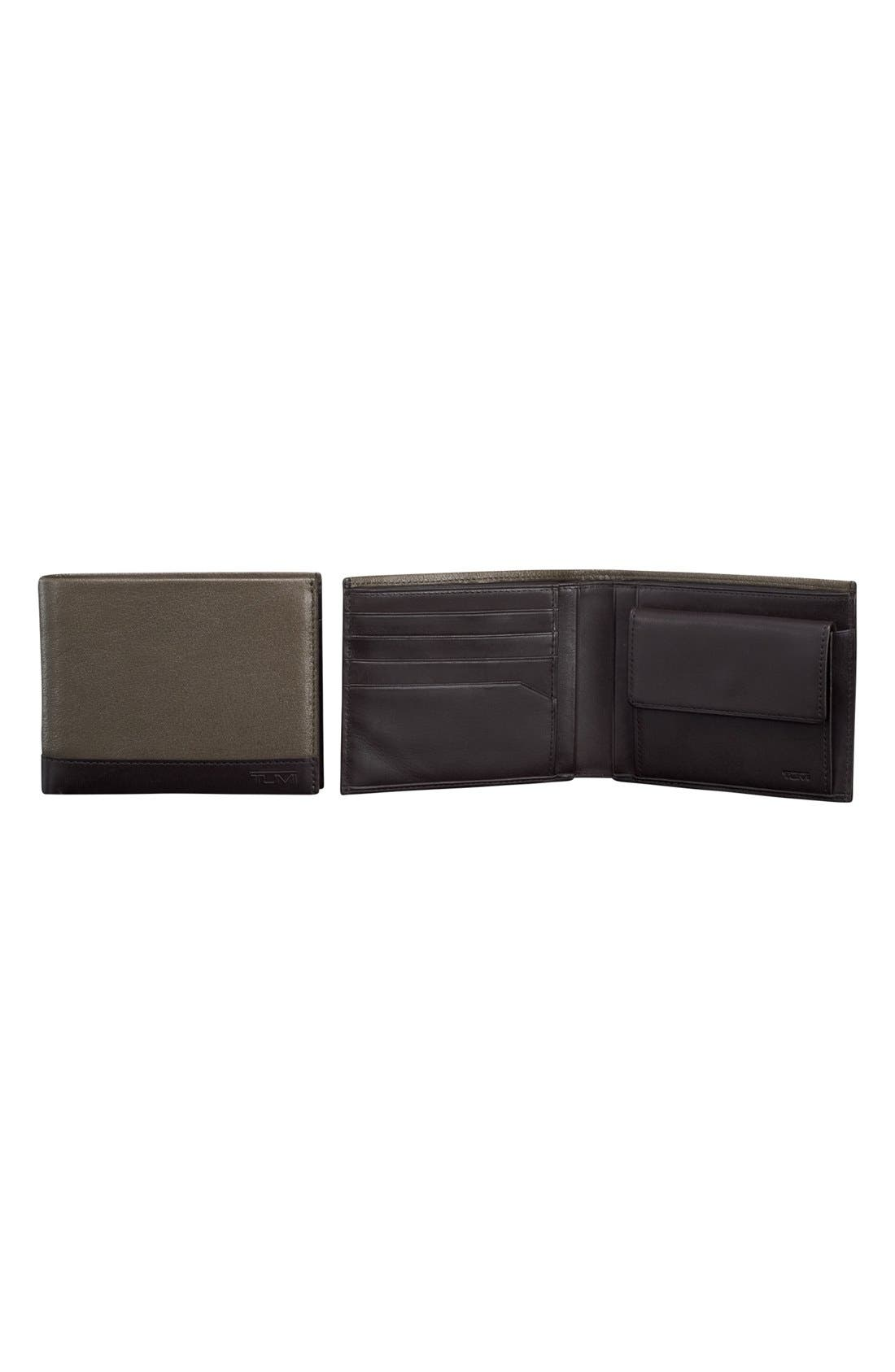 Alternate Image 1 Selected - Tumi 'Rivington Global' Leather Coin Wallet
