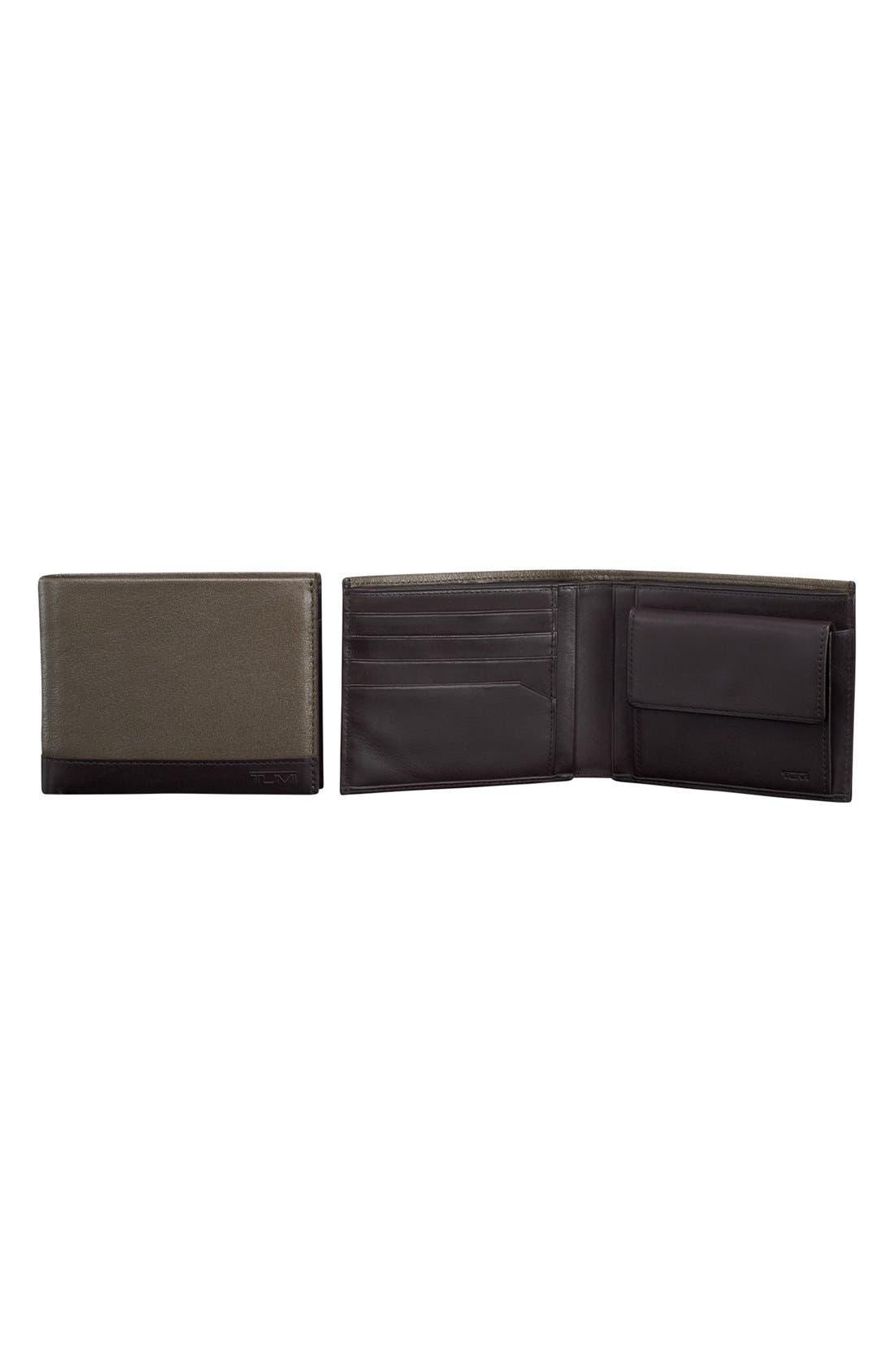 Main Image - Tumi 'Rivington Global' Leather Coin Wallet