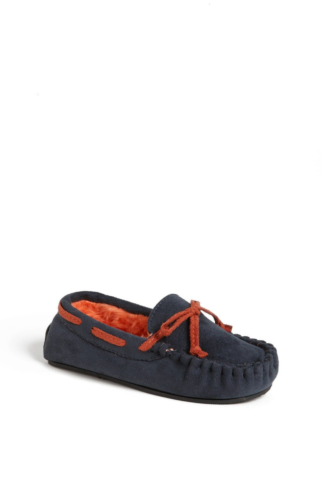 Alternate Image 1 Selected - Stride Rite Moc Stitched Slippers (Toddler & Little Kid)