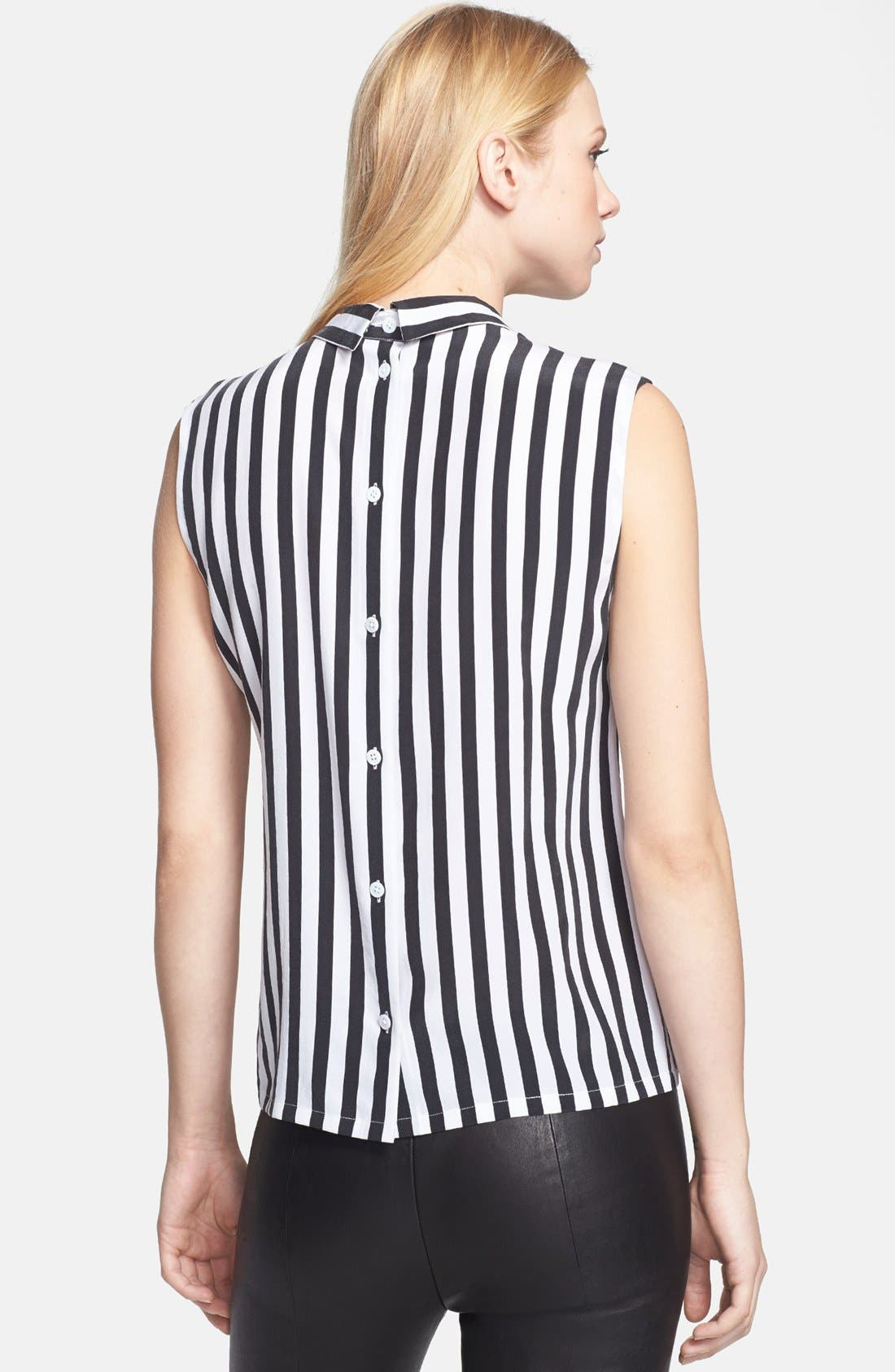 Alternate Image 2  - Equipment 'Elliot' Stripe Silk Top