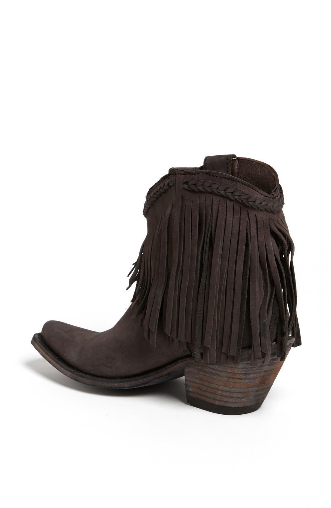 Alternate Image 3  - Liberty Black Fringed Short Boot