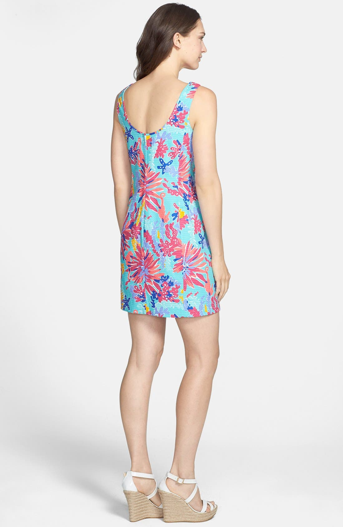 Alternate Image 2  - Lilly Pulitzer® 'Ember' Lace Trim Cotton Dress