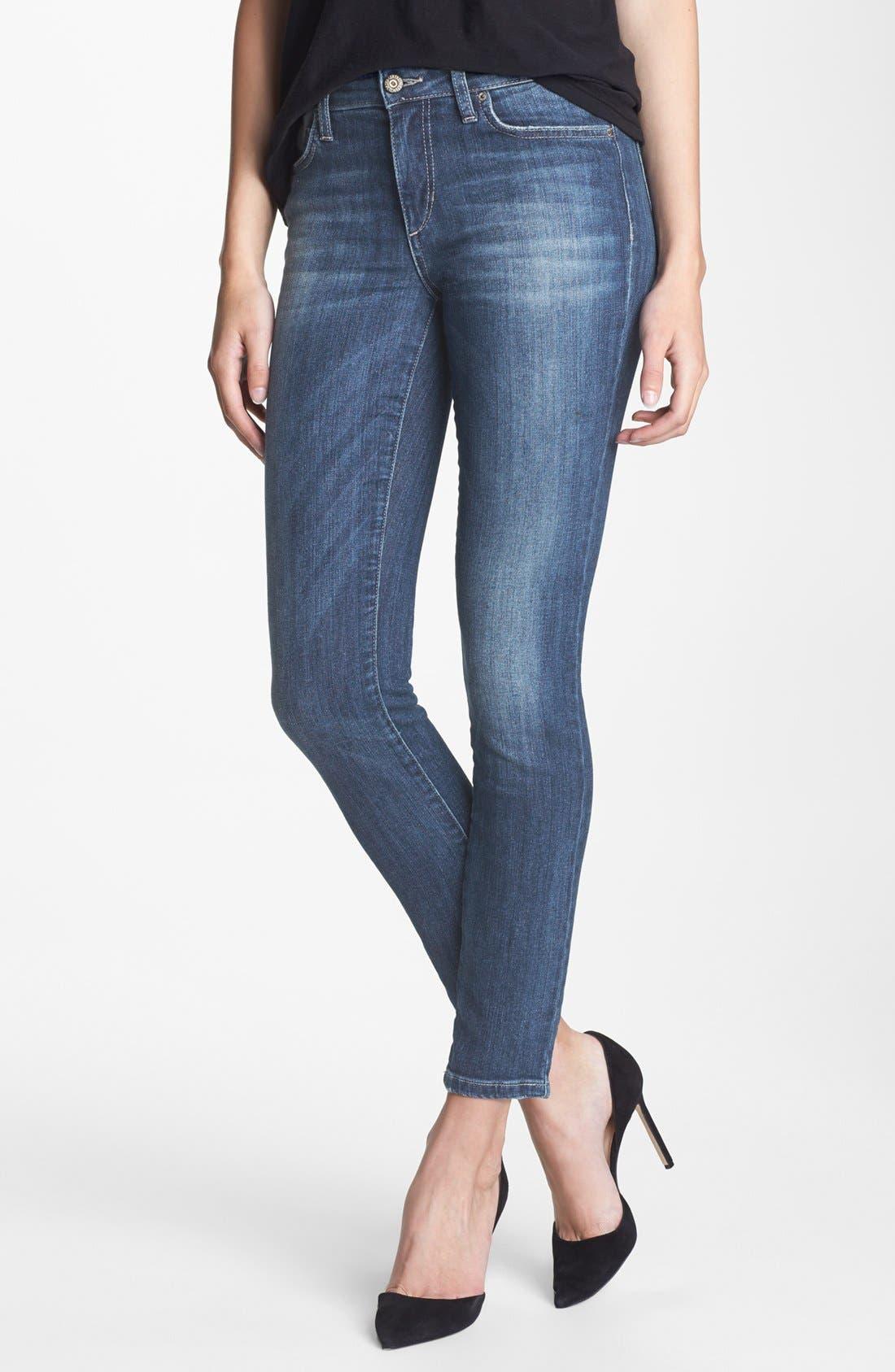 Alternate Image 1 Selected - Joe's Skinny Ankle Jeans (Laurel)