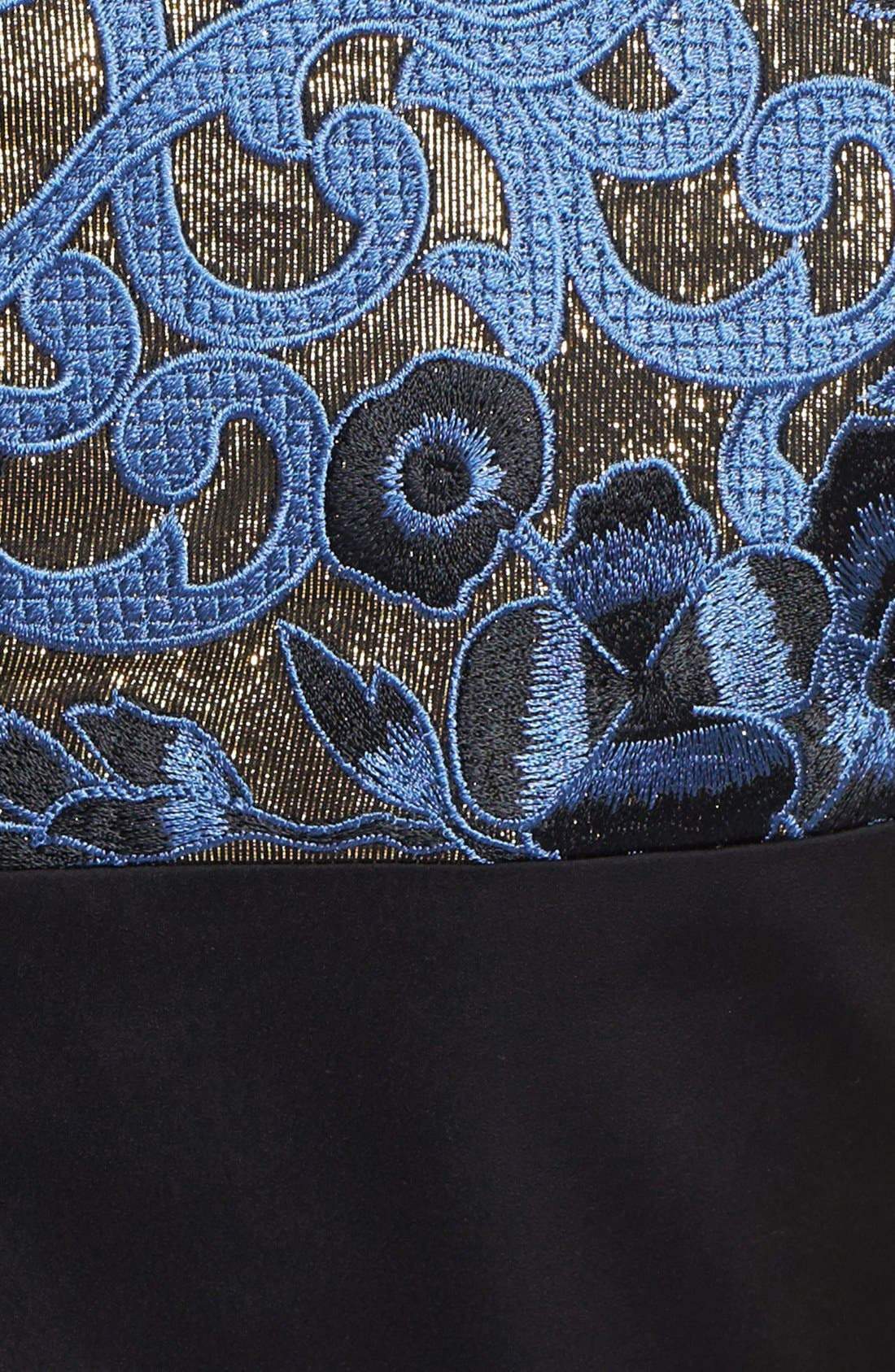 Alternate Image 3  - ERIN erin fetherston 'Clemence' Embroidery Embellished Gown