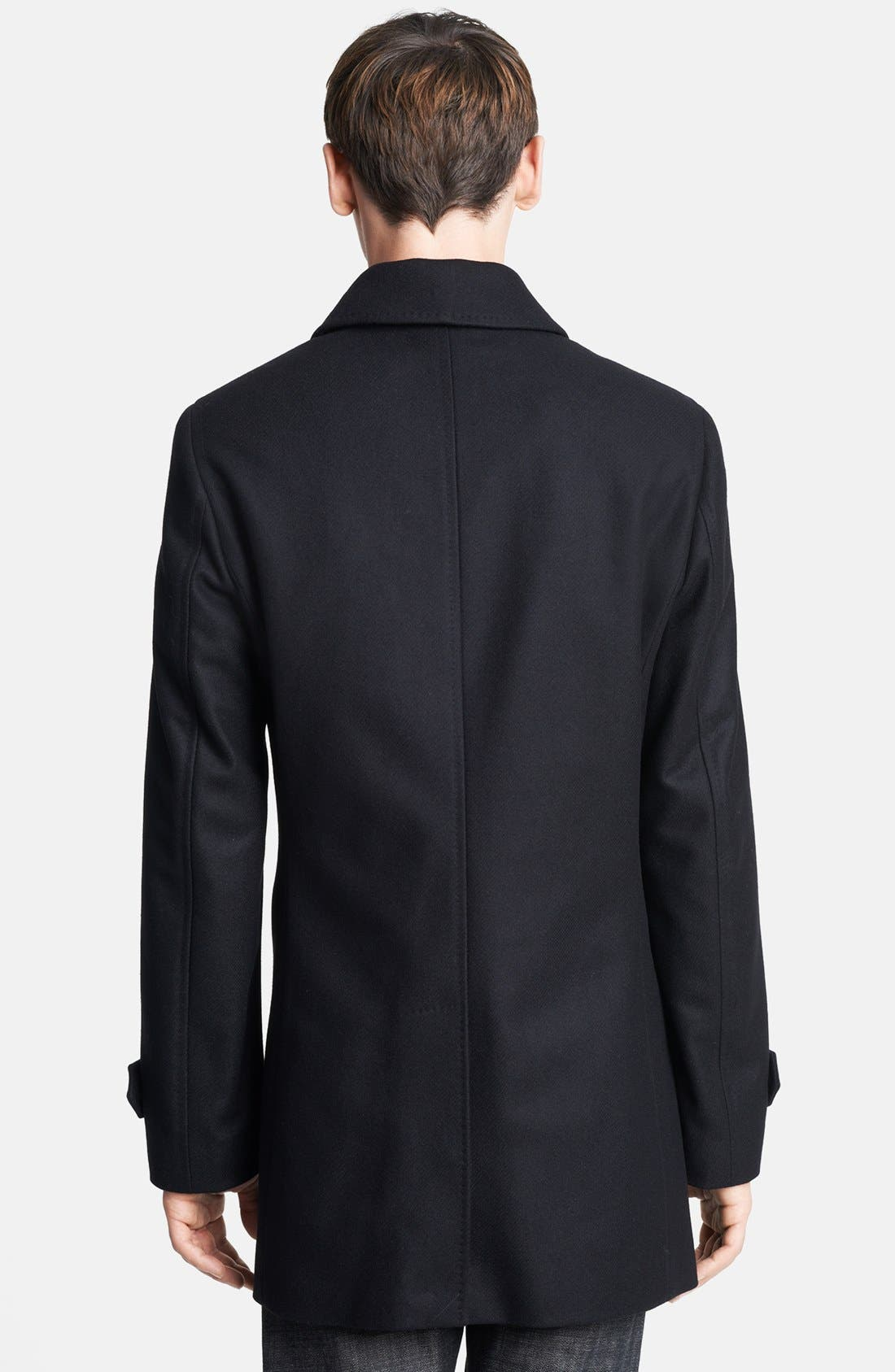 Alternate Image 2  - Burberry London 'Carlson' Topcoat