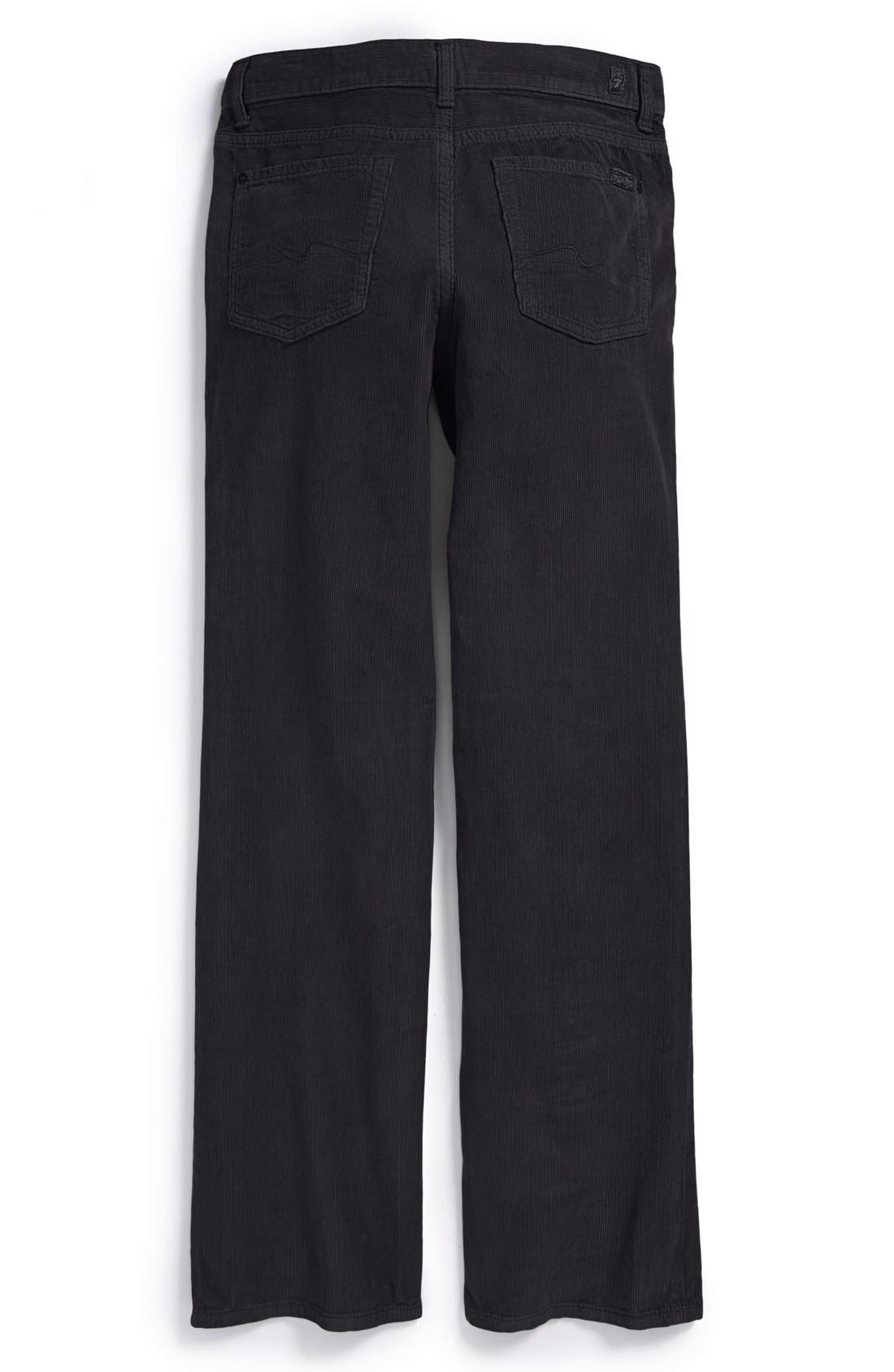 Alternate Image 1 Selected - 7 For All Mankind® 'Standard' Straight Leg Corduroy Pants (Big Boys)
