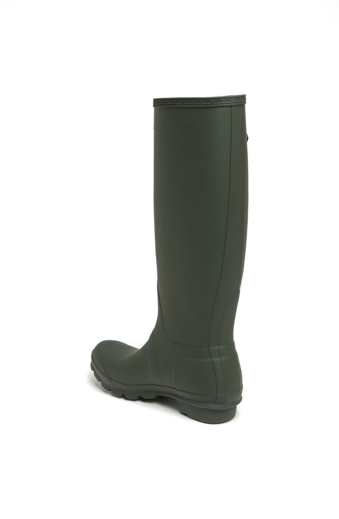 Alternate Image 2  - Hunter 'Original Tall' Rain Boot (Women)