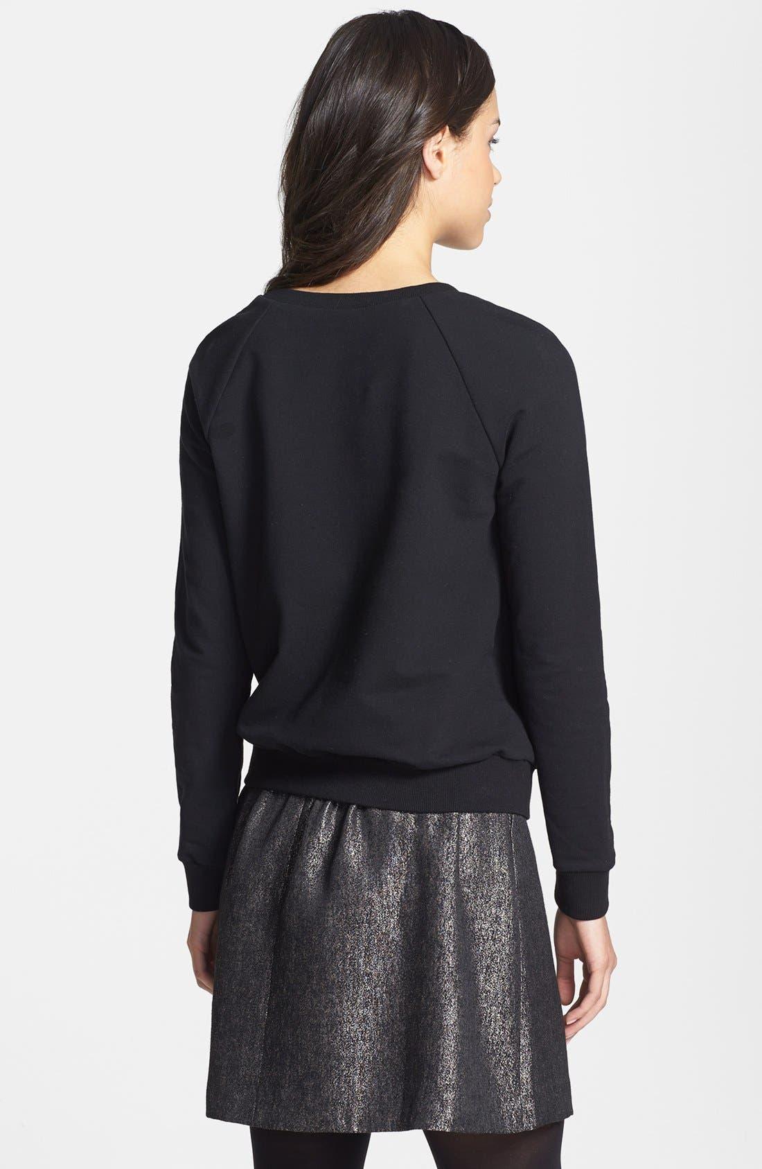 Alternate Image 2  - Halogen® Colorblock Sweatshirt