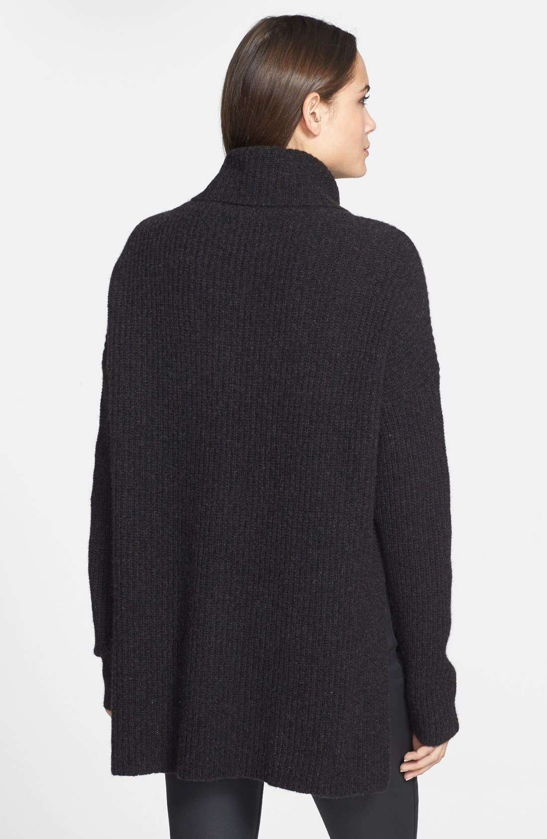 Alternate Image 2  - Eileen Fisher Supersoft Yak Hair & Wool Turtleneck Sweater