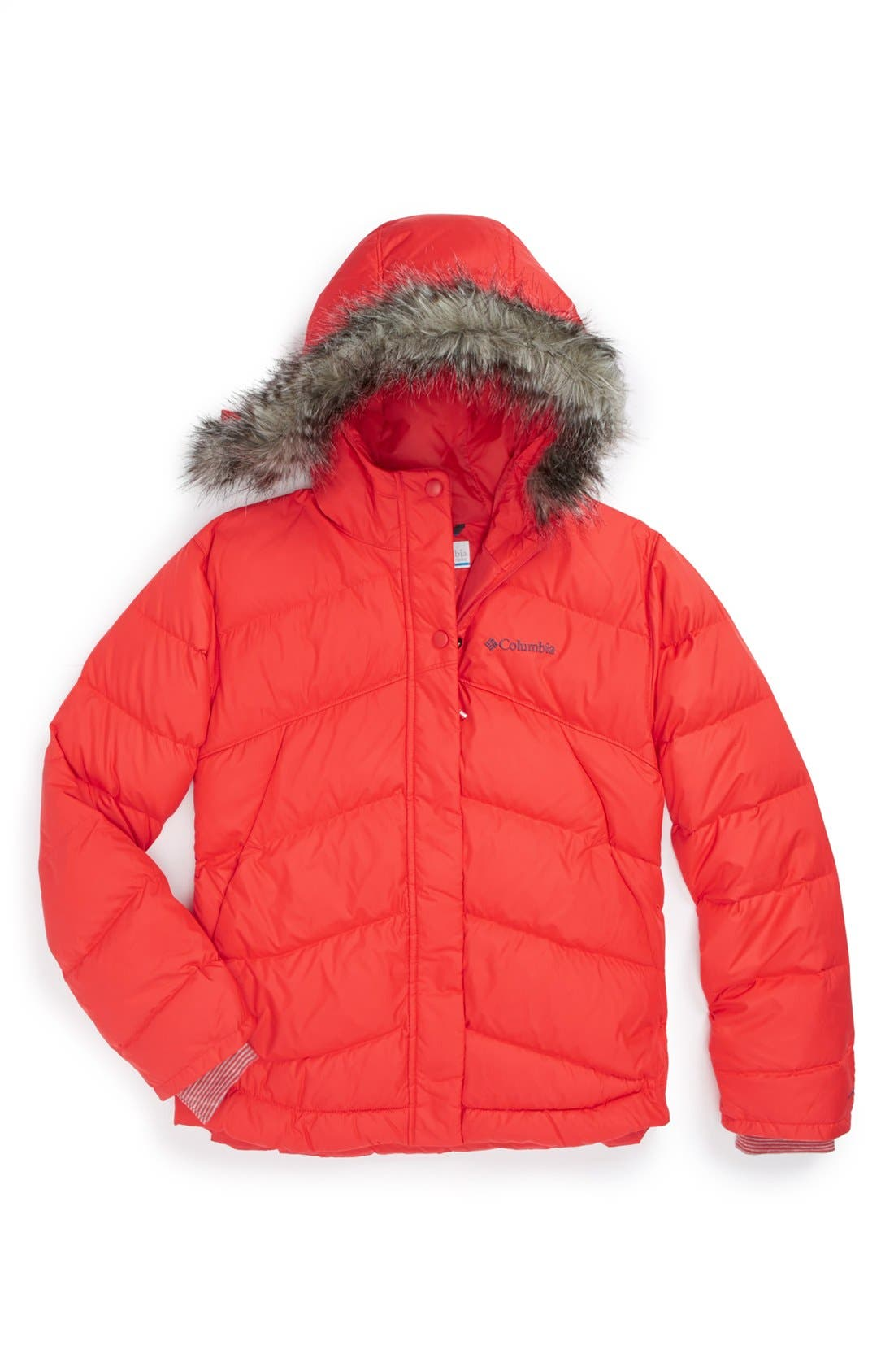 Alternate Image 1 Selected - Columbia 'Alpine Glow' Jacket (Big Girls)
