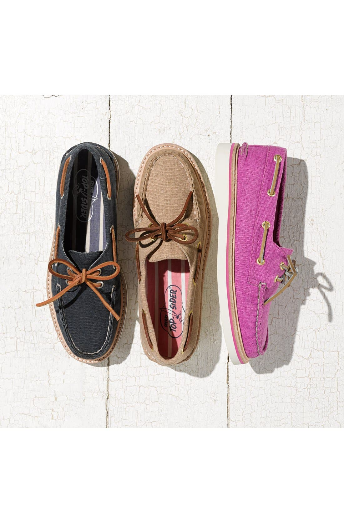 Alternate Image 5  - Sperry Top-Sider® 'Grayson' Canvas Boat Shoe