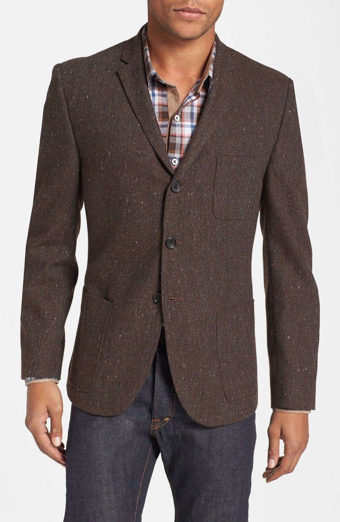 Alternate Image 1 Selected - Dockers® Tweed Three Button Blazer
