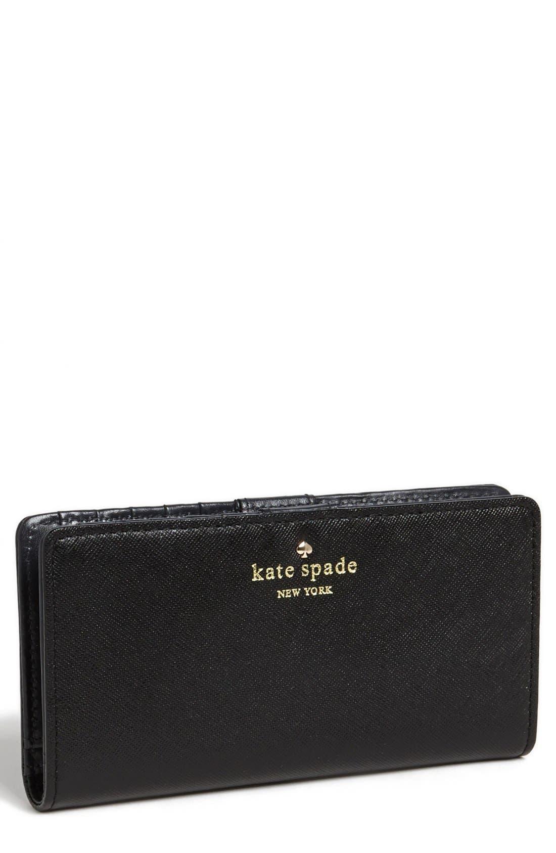 Main Image - kate spade new york 'cherry lane - stacy' wallet