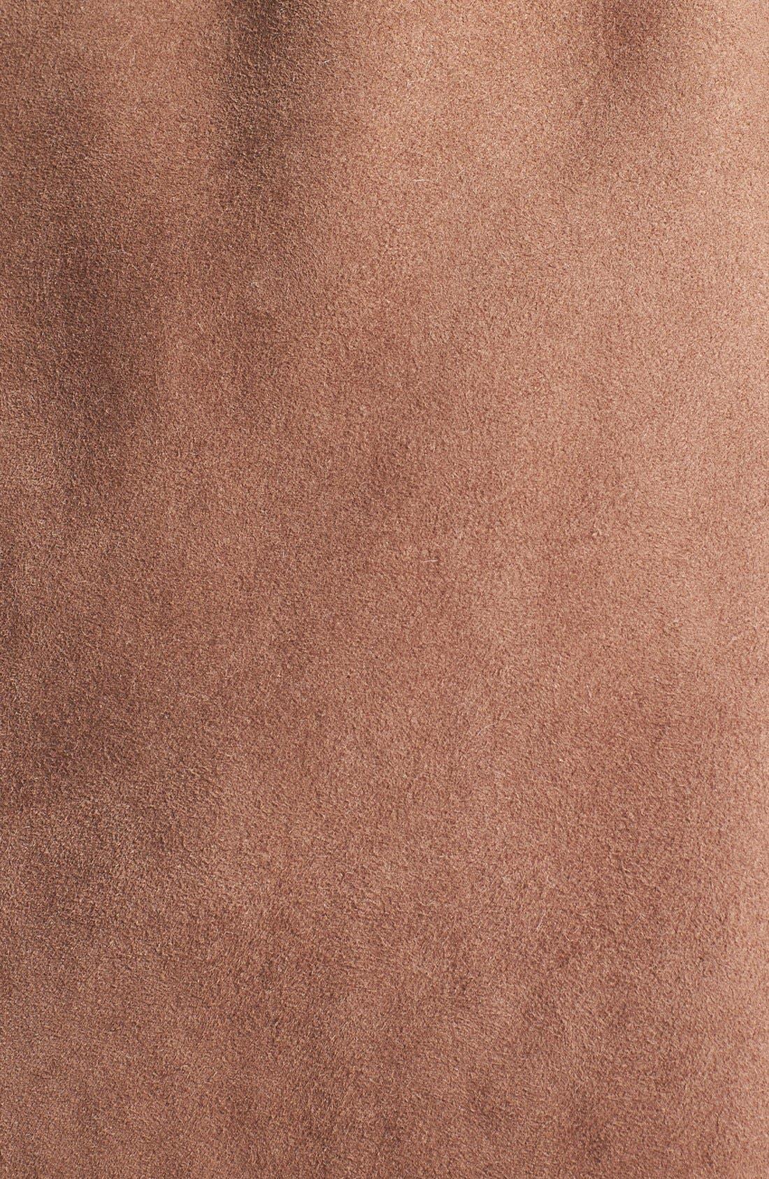 Alternate Image 3  - UGG® Australia 'Andeliane' Genuine Shearling Wrap Coat