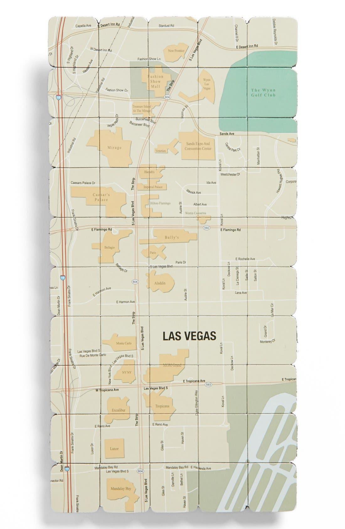 Main Image - Design Ideas Las Vegas Map Magnet