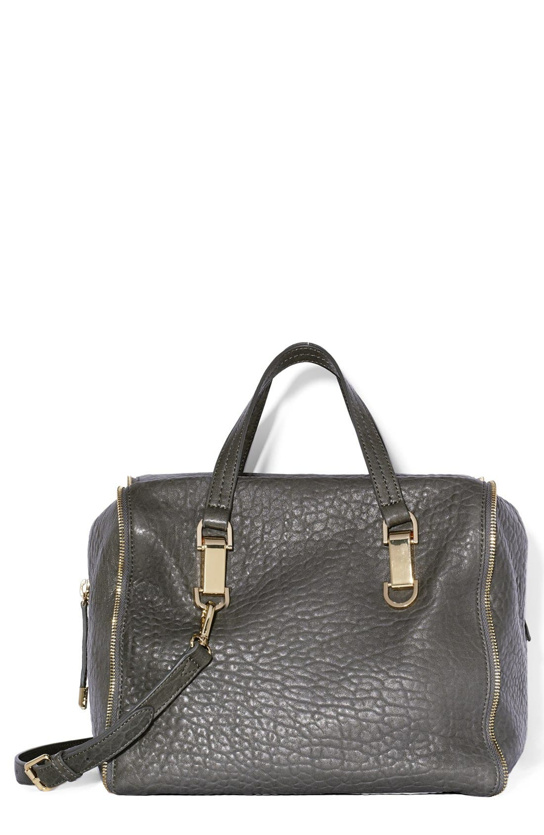 Alternate Image 1 Selected - Vince Camuto 'Riley' Leather Satchel
