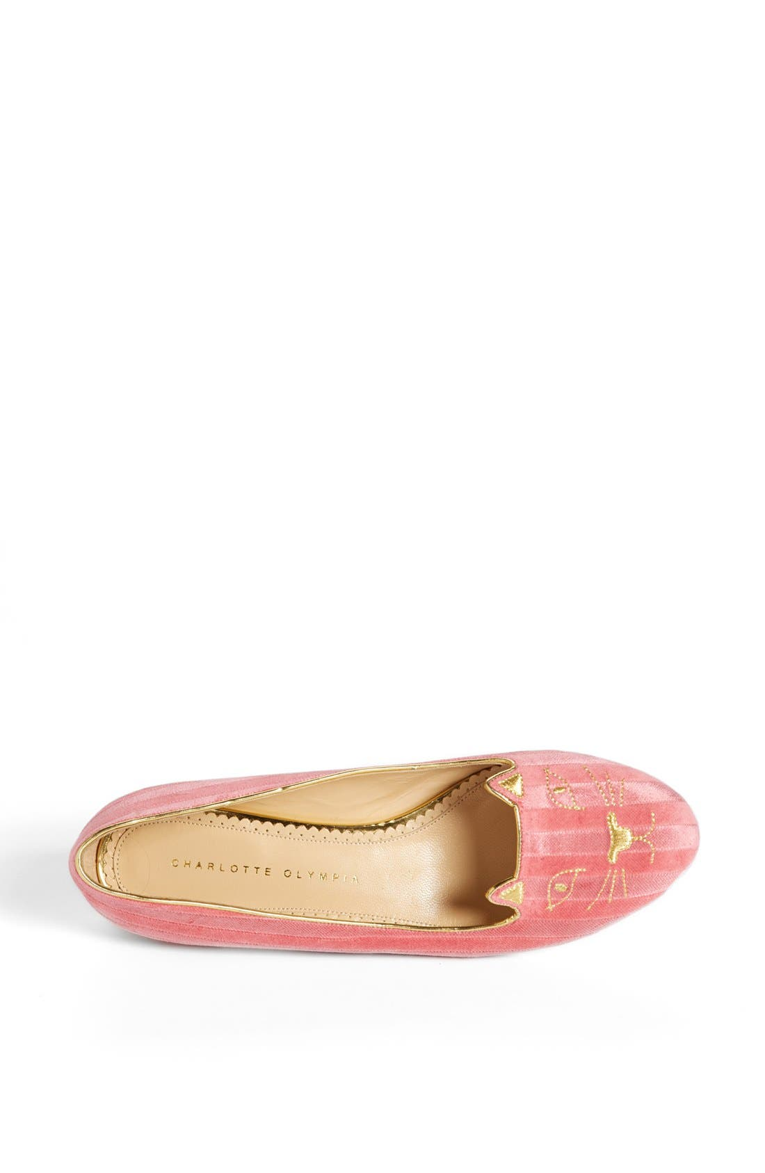 Alternate Image 3  - Charlotte Olympia 'Kitty' Flat