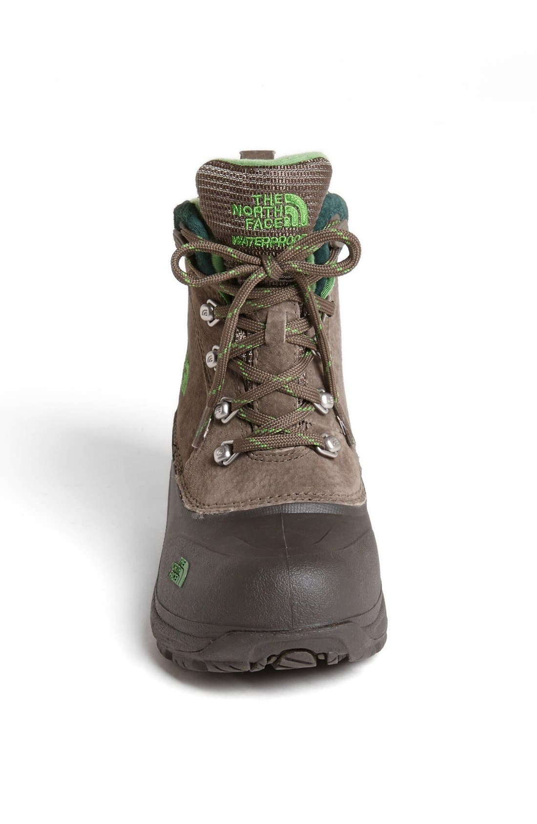Alternate Image 3  - The North Face 'Chilkats' Lace Up Waterproof Snow Boot (Toddler, Little Kid & Big Kid)