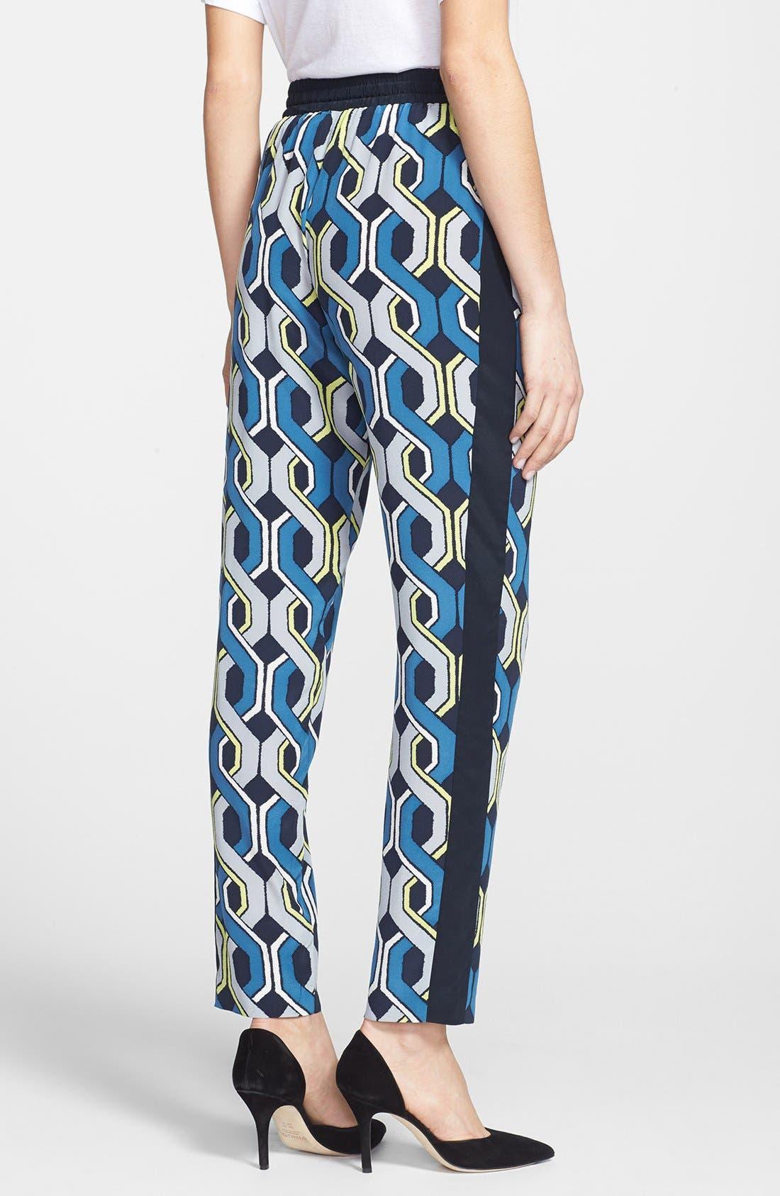Alternate Image 2  - Trina Turk 'Mariane' Drawstring Silk Pants