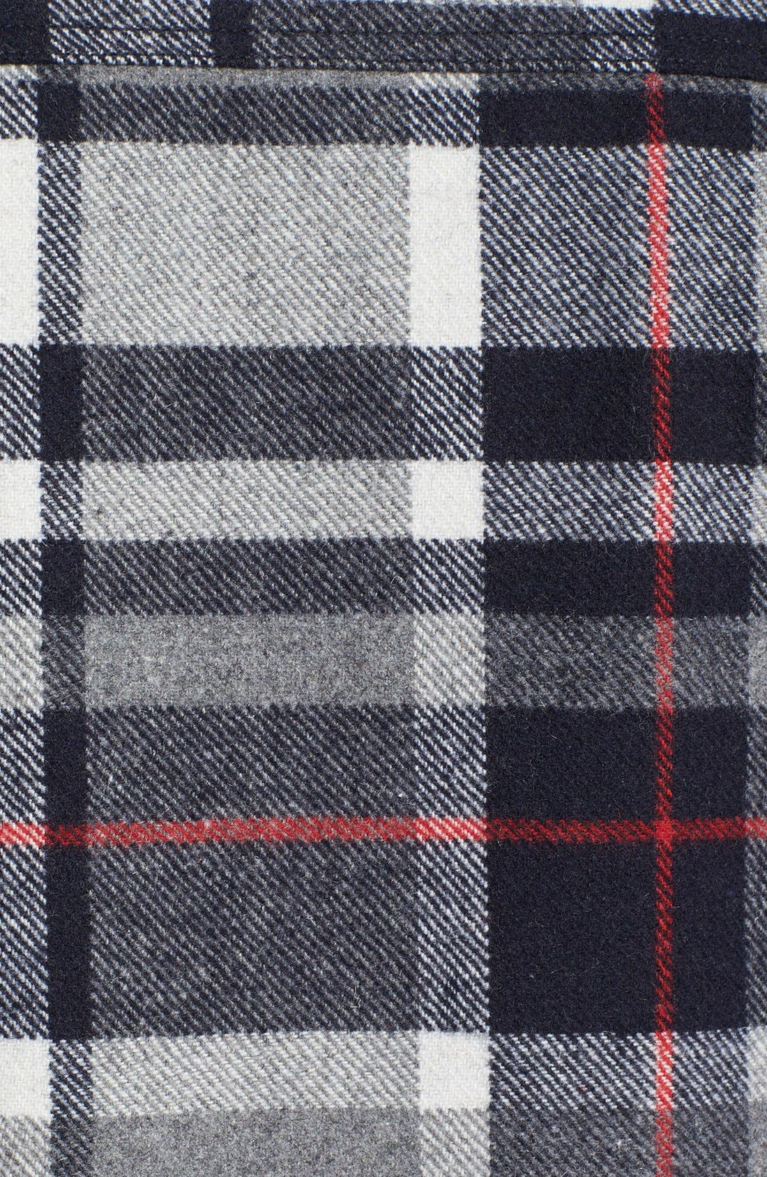 Alternate Image 3  - Topman Check Wool Blend Flannel Shirt Jacket