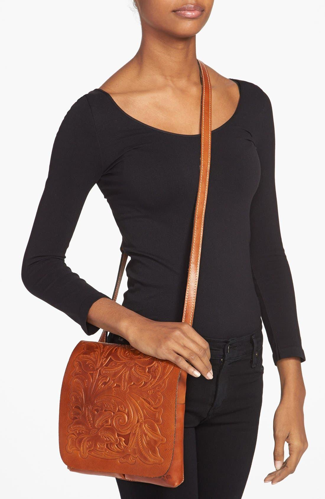 Alternate Image 2  - Patricia Nash 'Granada' Embossed Leather Crossbody Bag